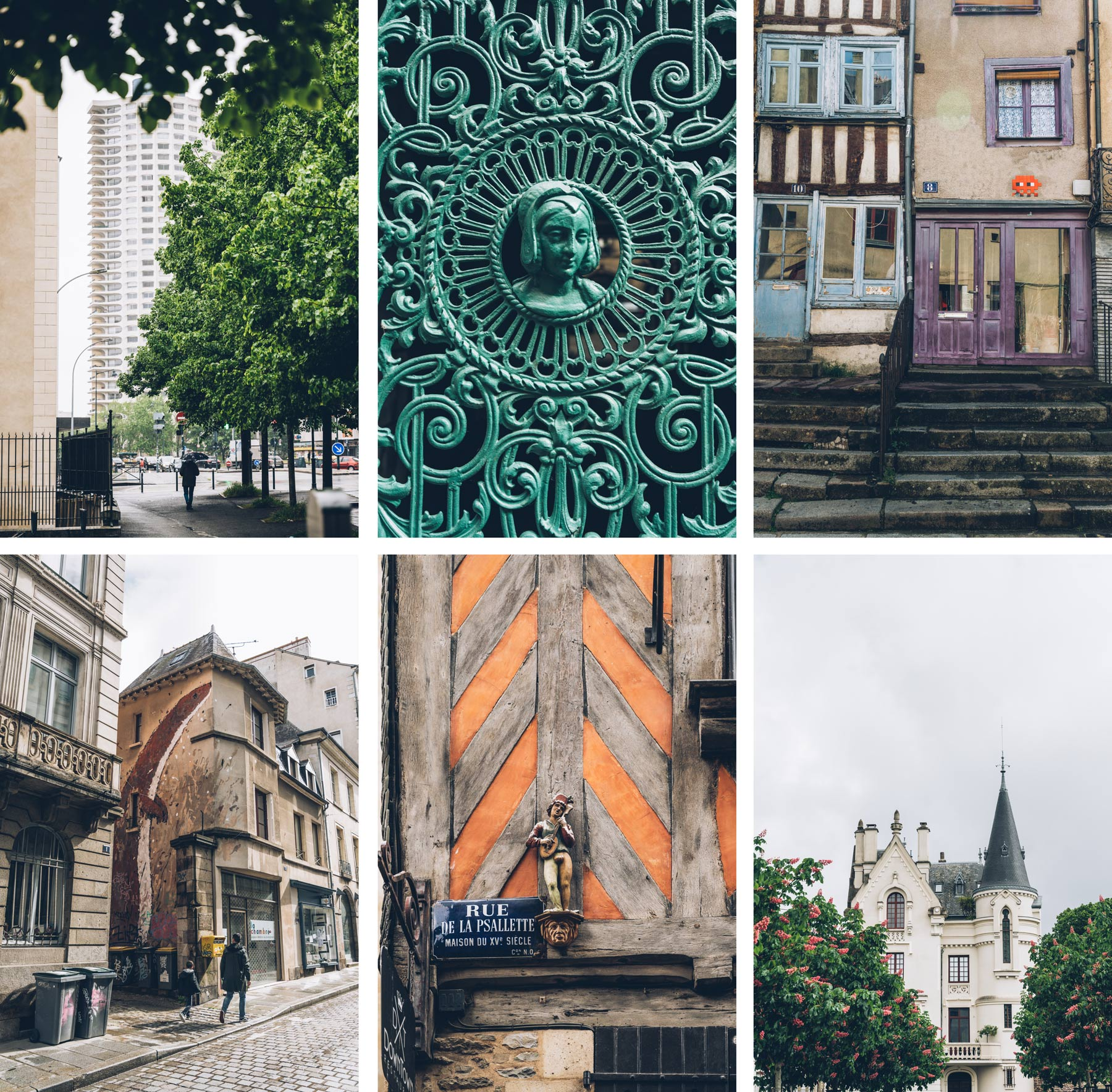 Visite en Slam, Rennes