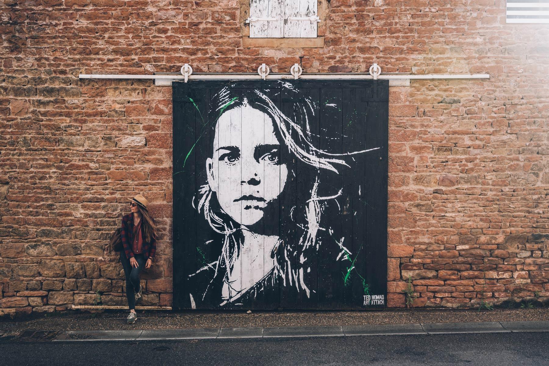 Street Art Ted Nomad, Bourgogne