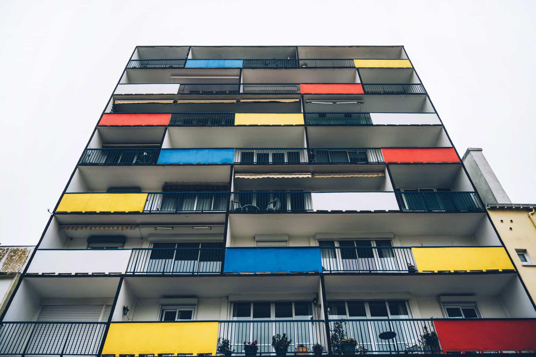 Lorient, Balcons colorés