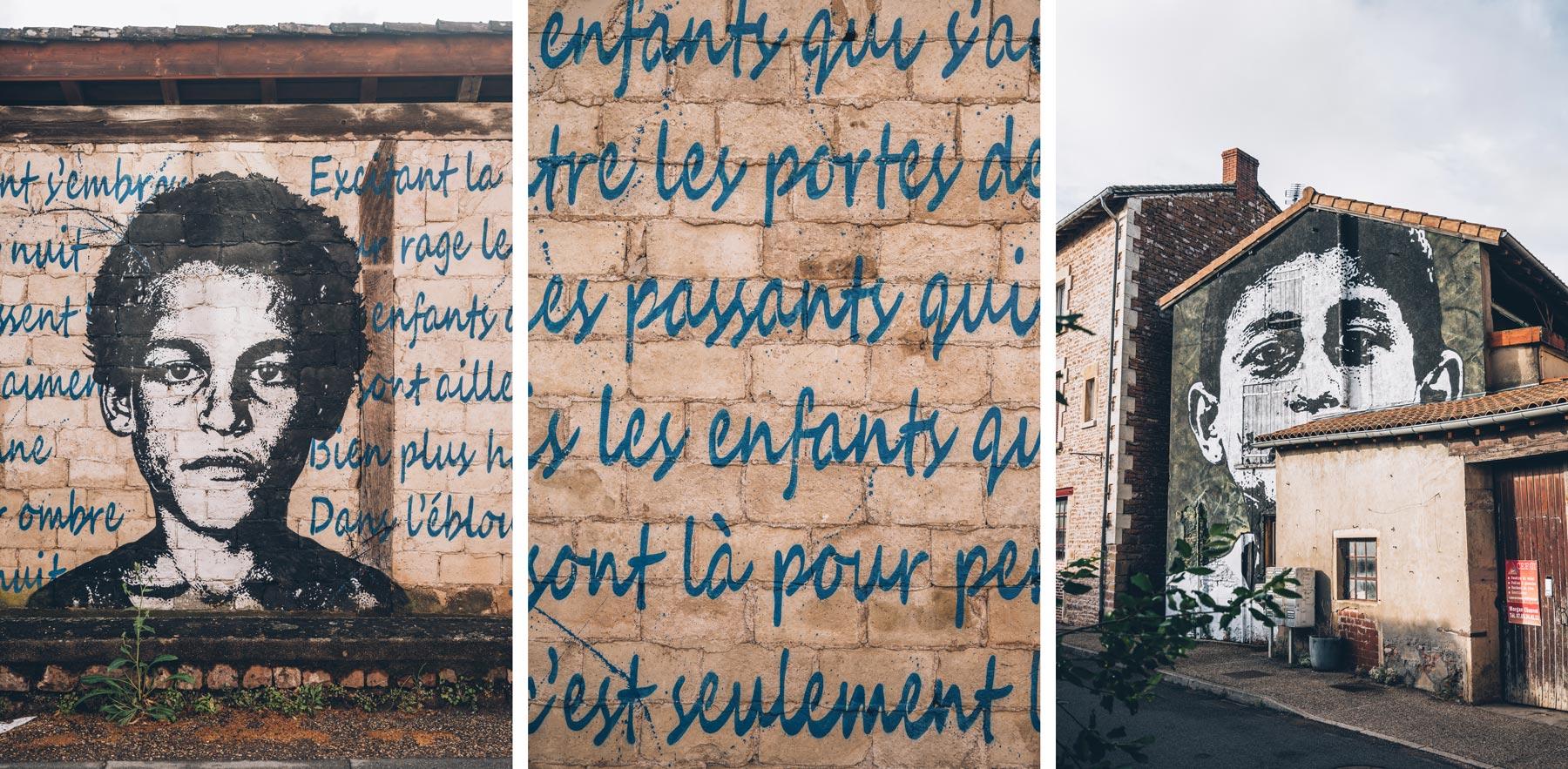 Leynes, Street Art dans le Maconnais