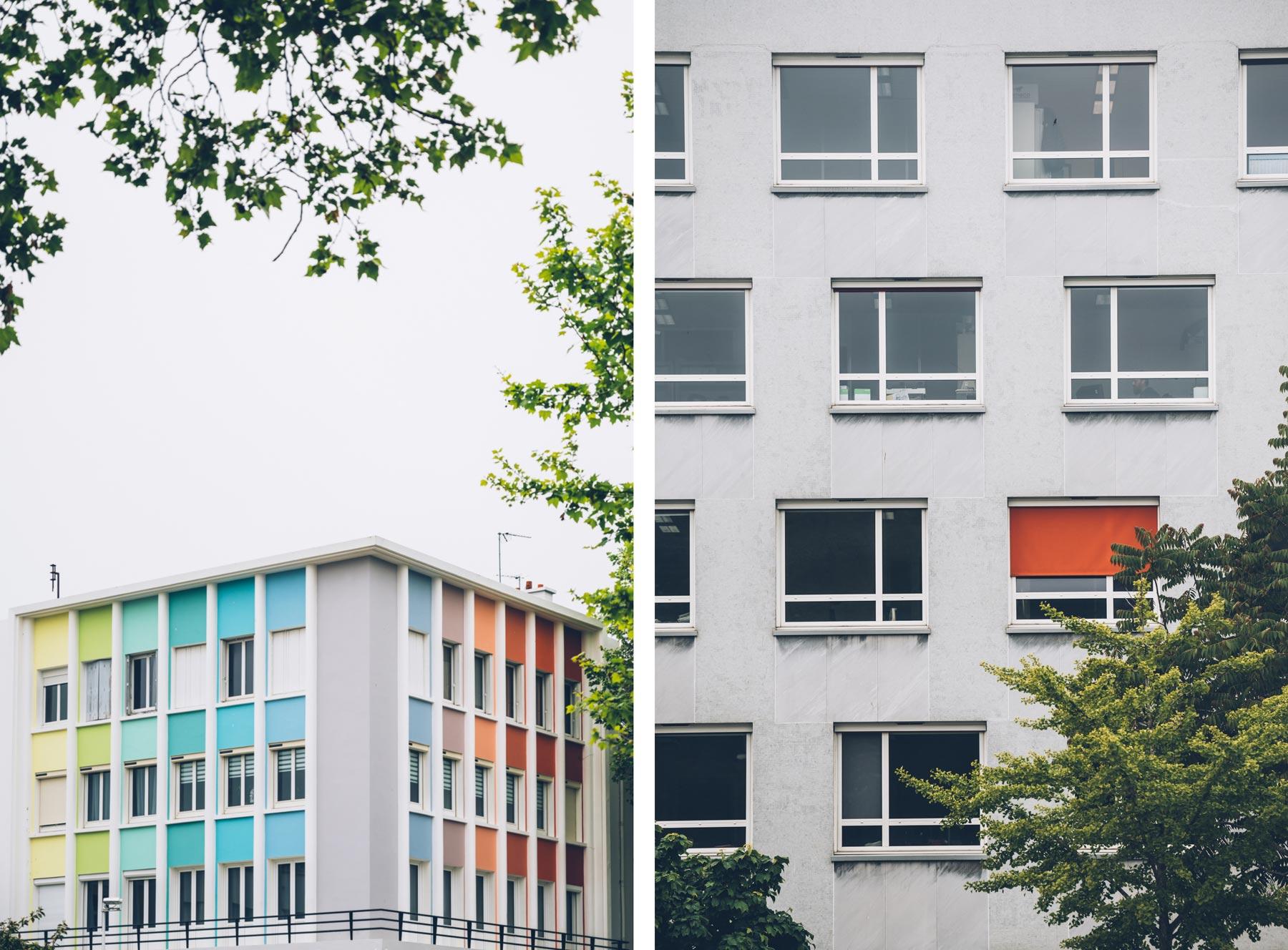 Architecture colorée, Lorient