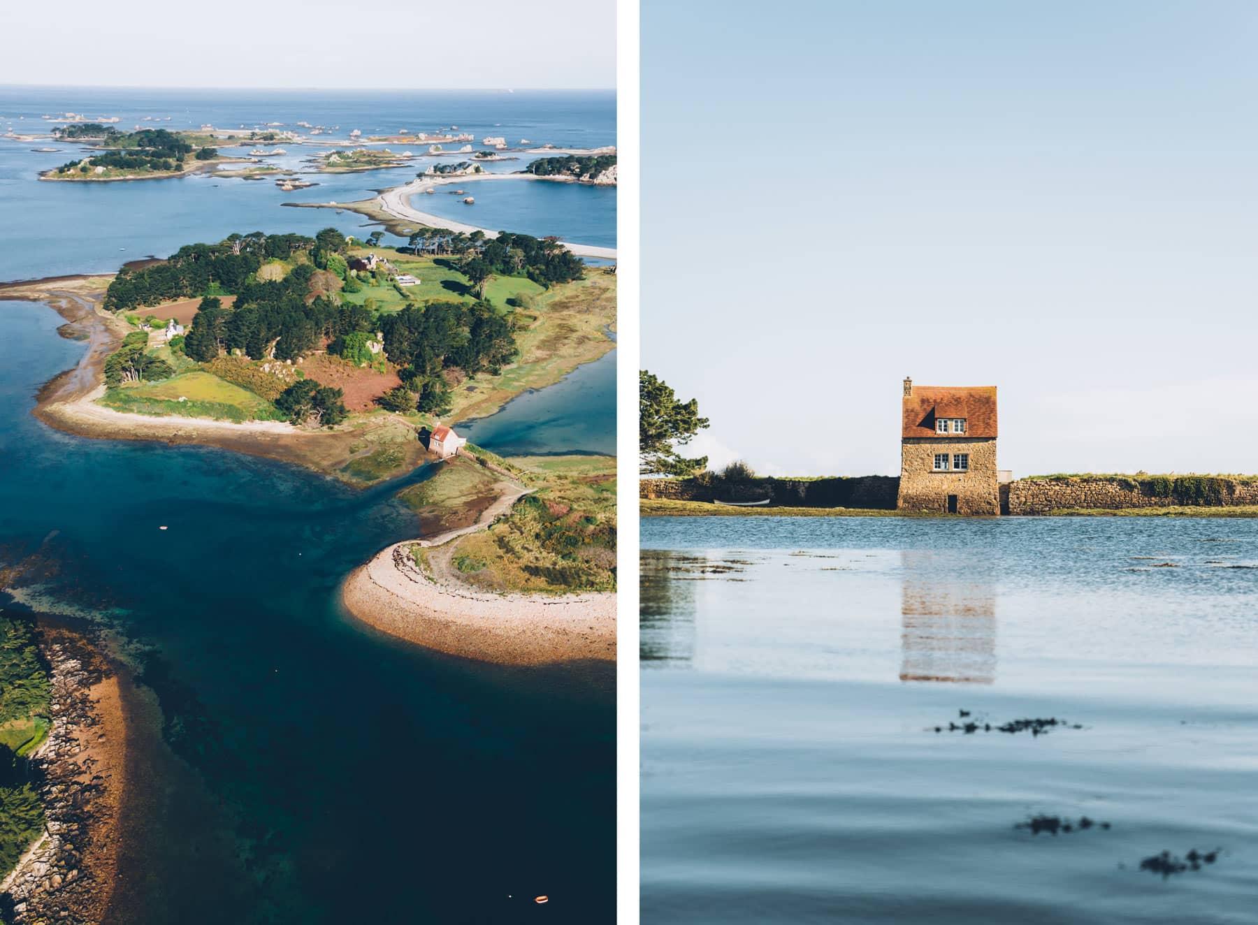 petit moulin à marée de l'ile de Balanec