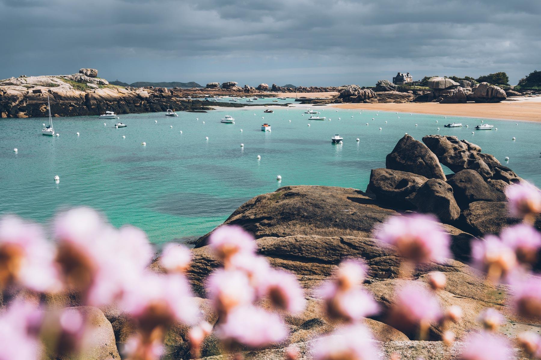 Trégastel, Bretagne
