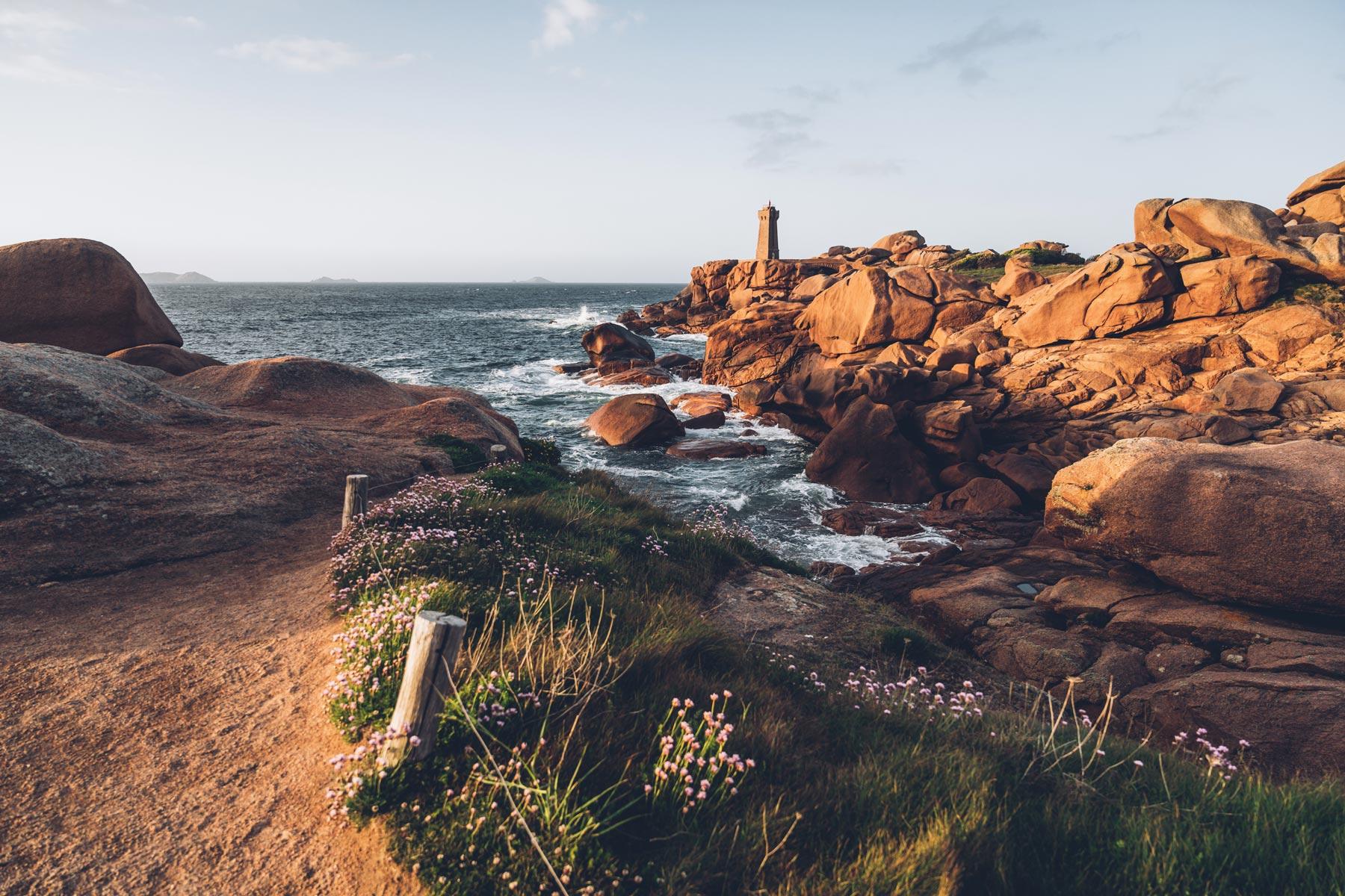 phare de Maen Ruz, Bretagne