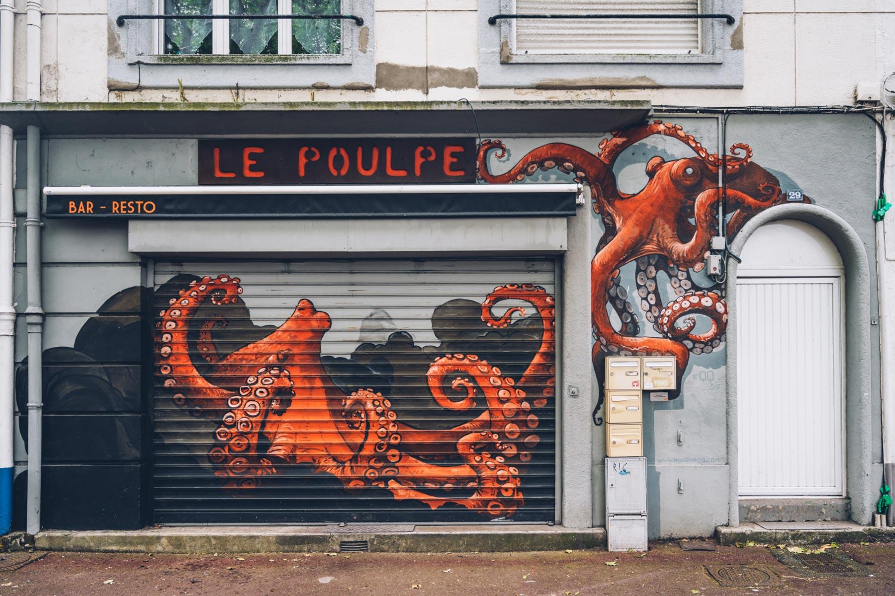 Le Poulpe, Street Art, Lorient