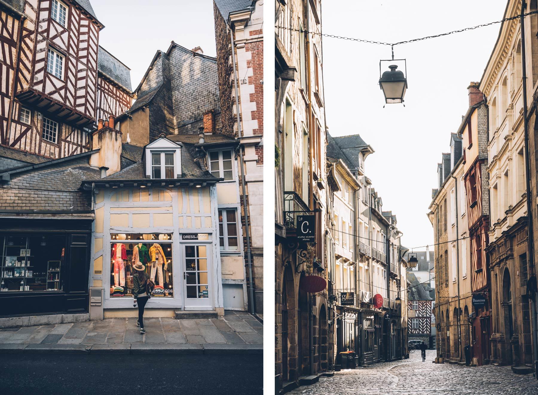 Boutiques Rennes