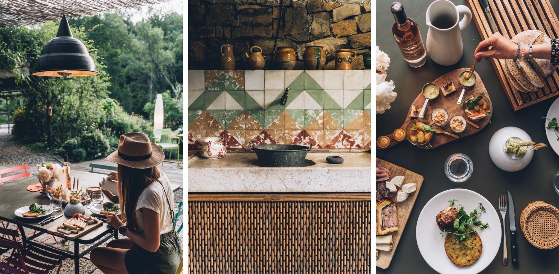 Chef à domicile, Mas de Saribou