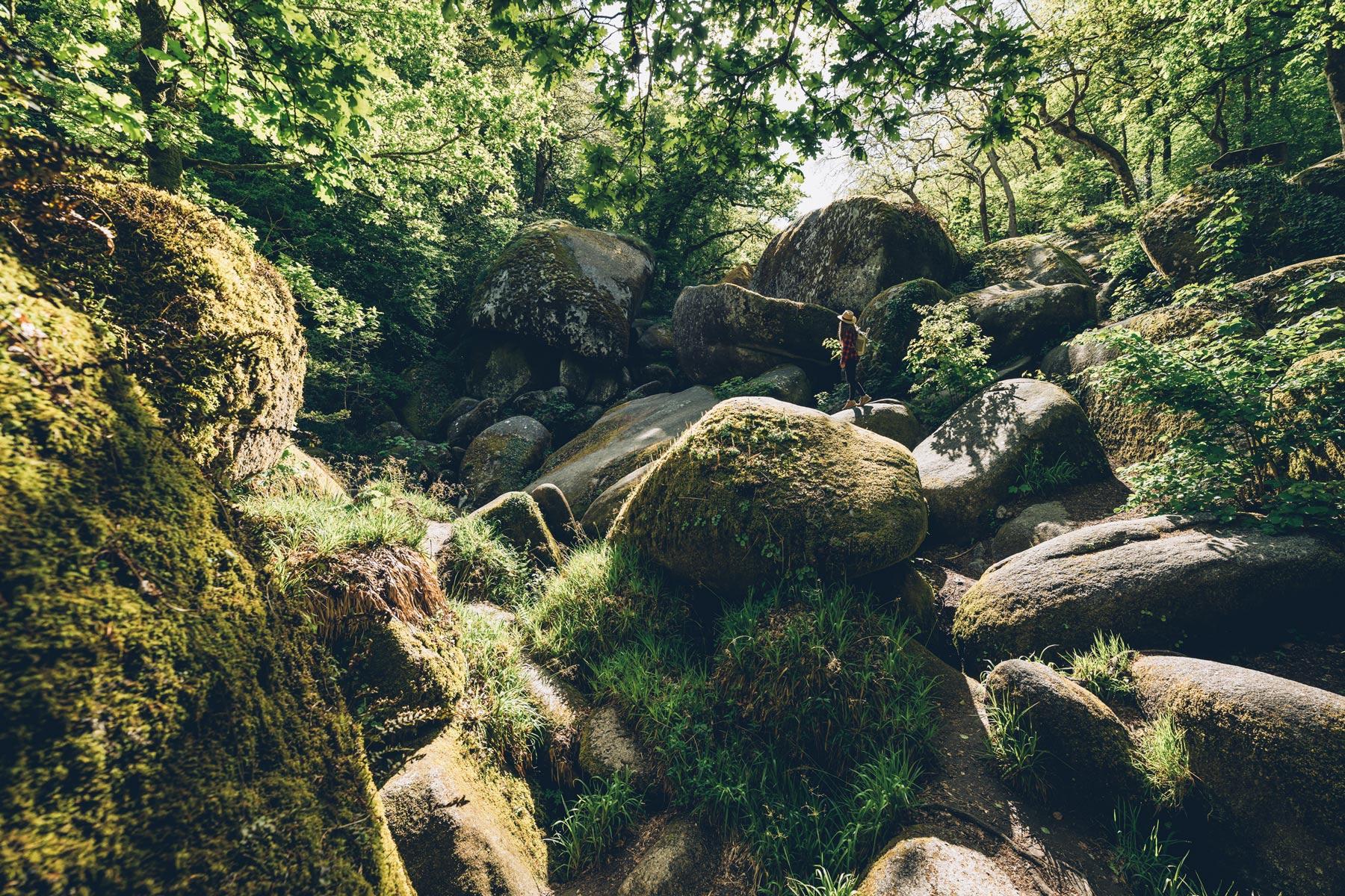Forêt de Huelgoat, Bretagne