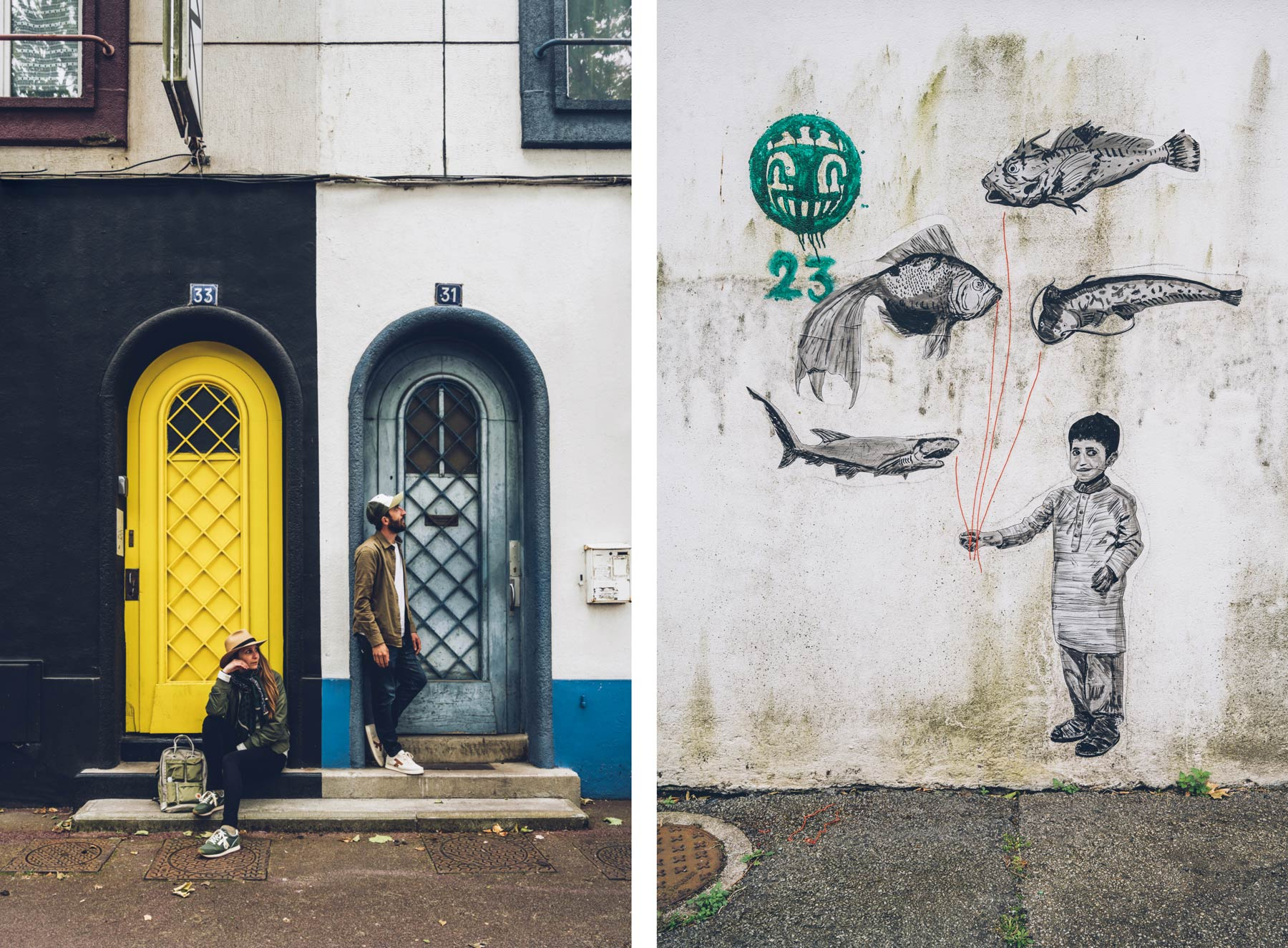 Portes Arrondies et Street Art, Lorient