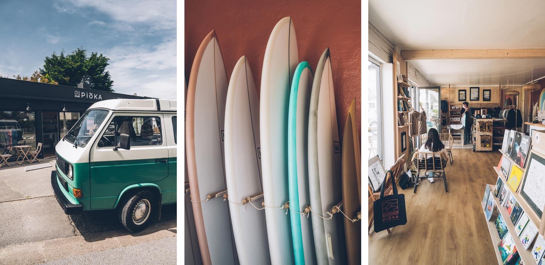 Pioka Surf Shop, Ploemeur, Fort Bloqué