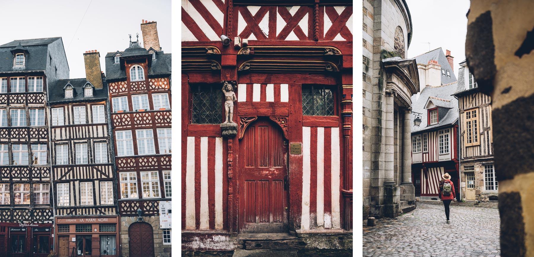 Maisons à Pans de bois, Rennes