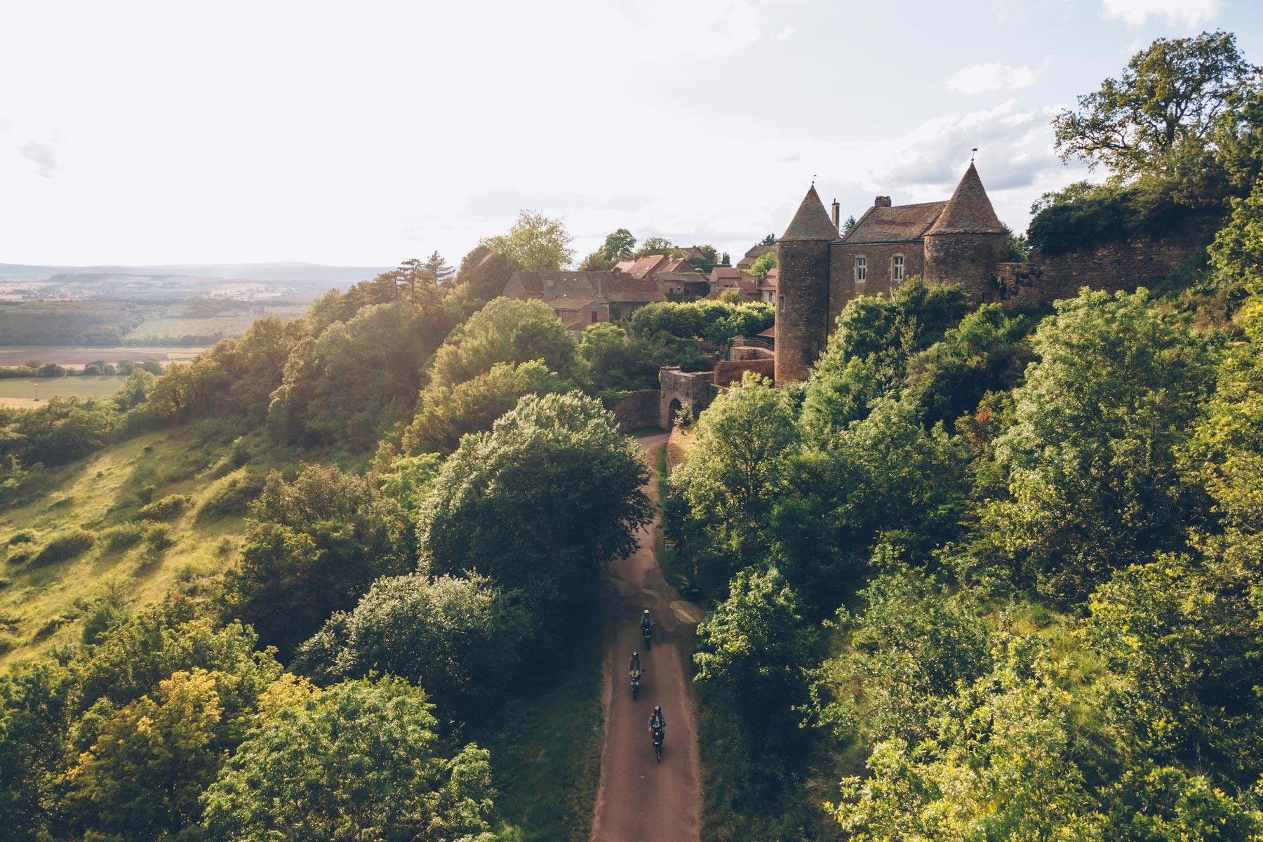 Tour de Solex en Bourgogne