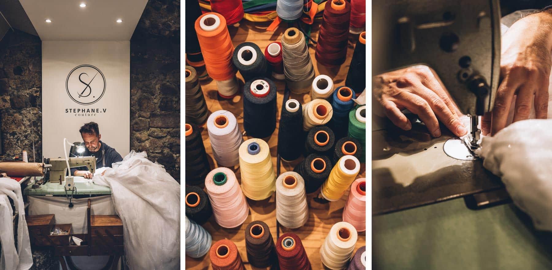 Stéphane V Couturier Ardèche Robe de Mariée