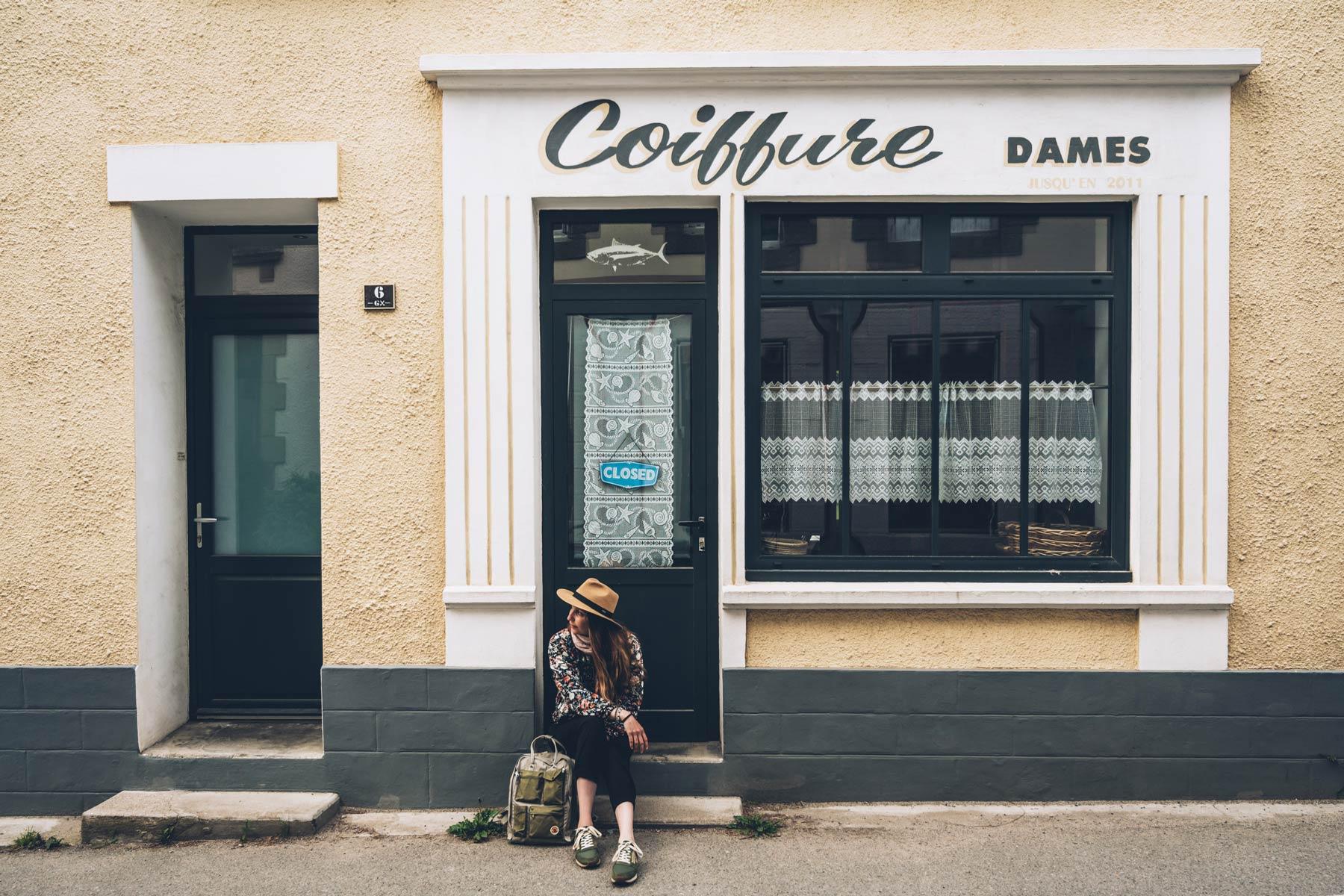 Coiffure Dames, Ile de Groix
