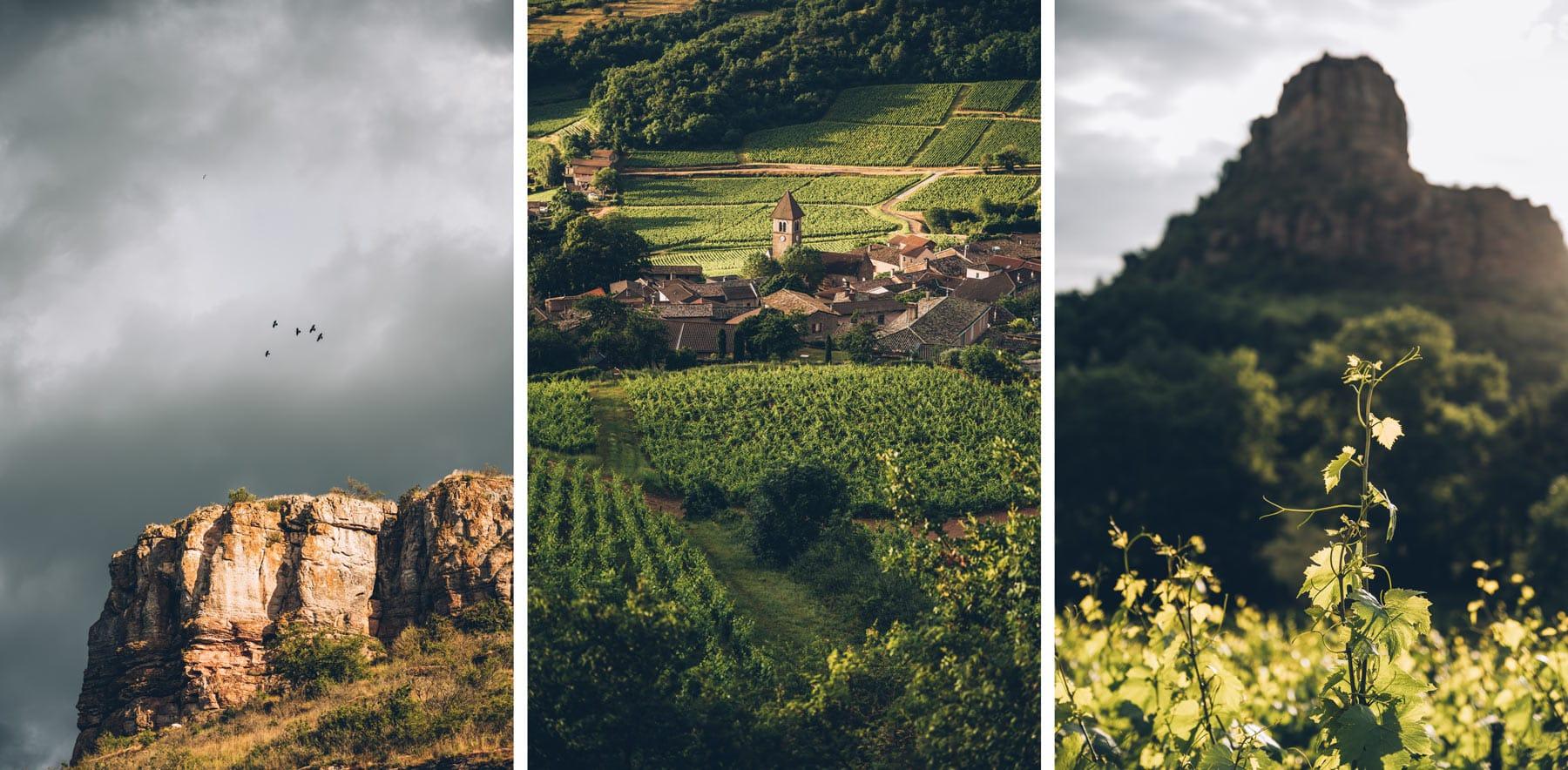 Roche de Solutré, Saône et Loire