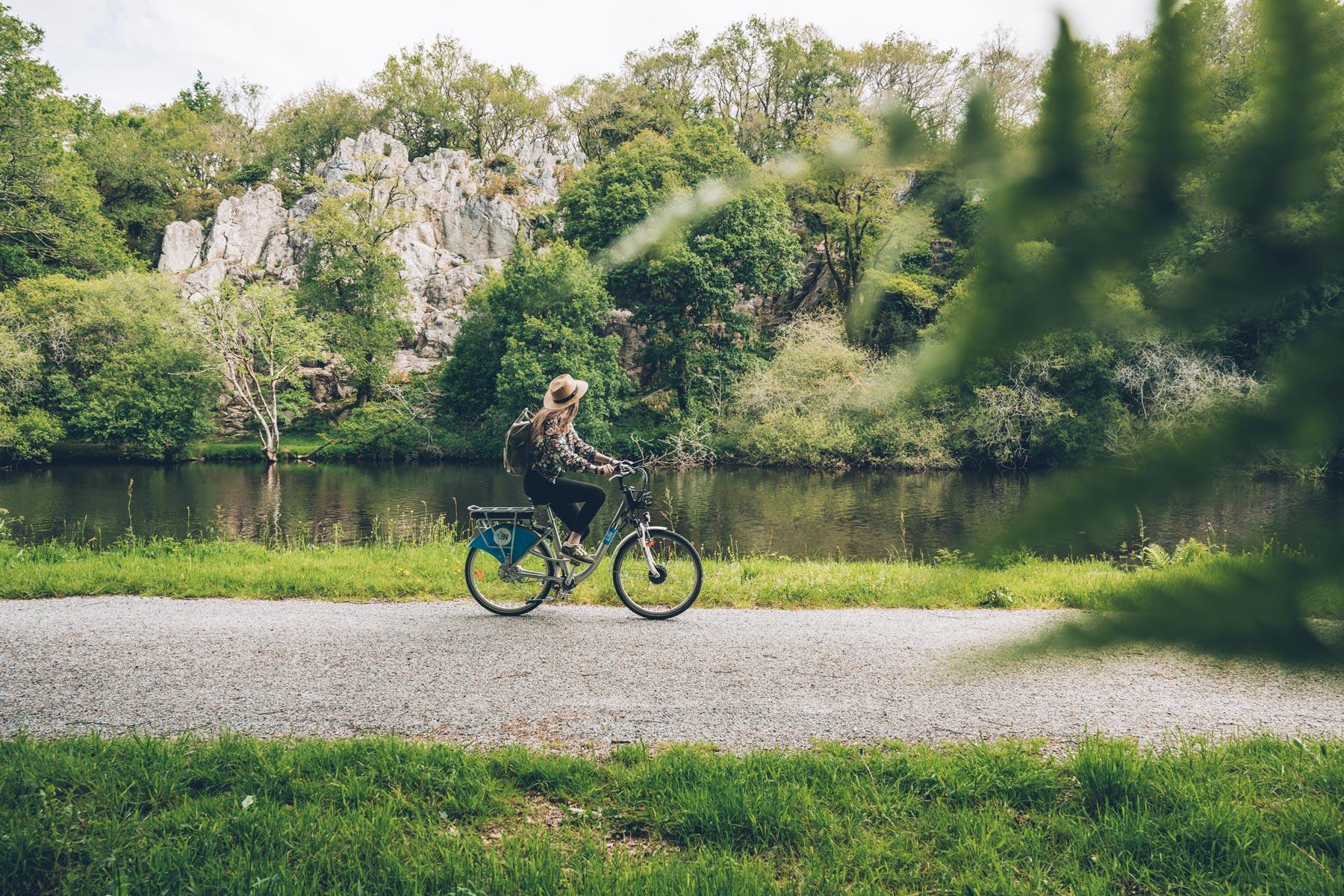 Vélo le long du Blavet, Lorient