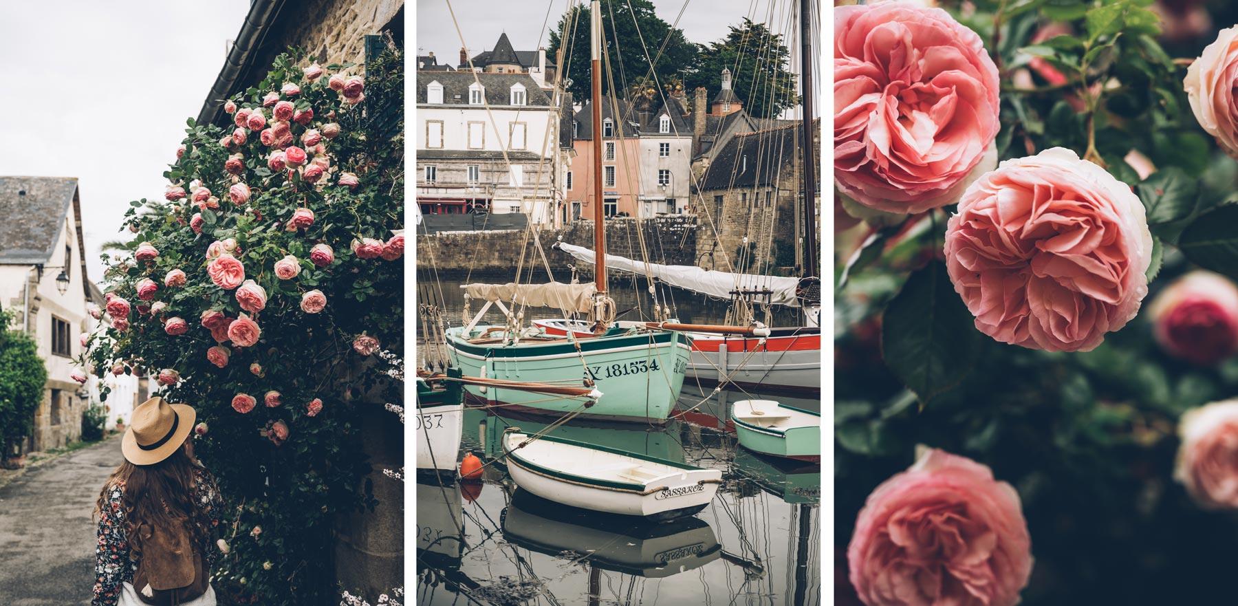 Le port de Saint Goustan, Bretagne