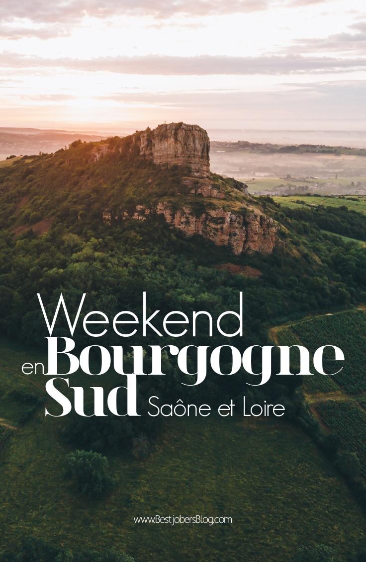 Weekend près de Lyon Saone et Loire