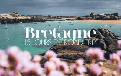 BRETAGNE |15 JOURS DE ROAD TRIP EN VAN, NOTRE ITINERAIRE