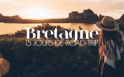 BRETAGNE  15 JOURS DE ROAD TRIP EN VAN, NOTRE ITINERAIRE