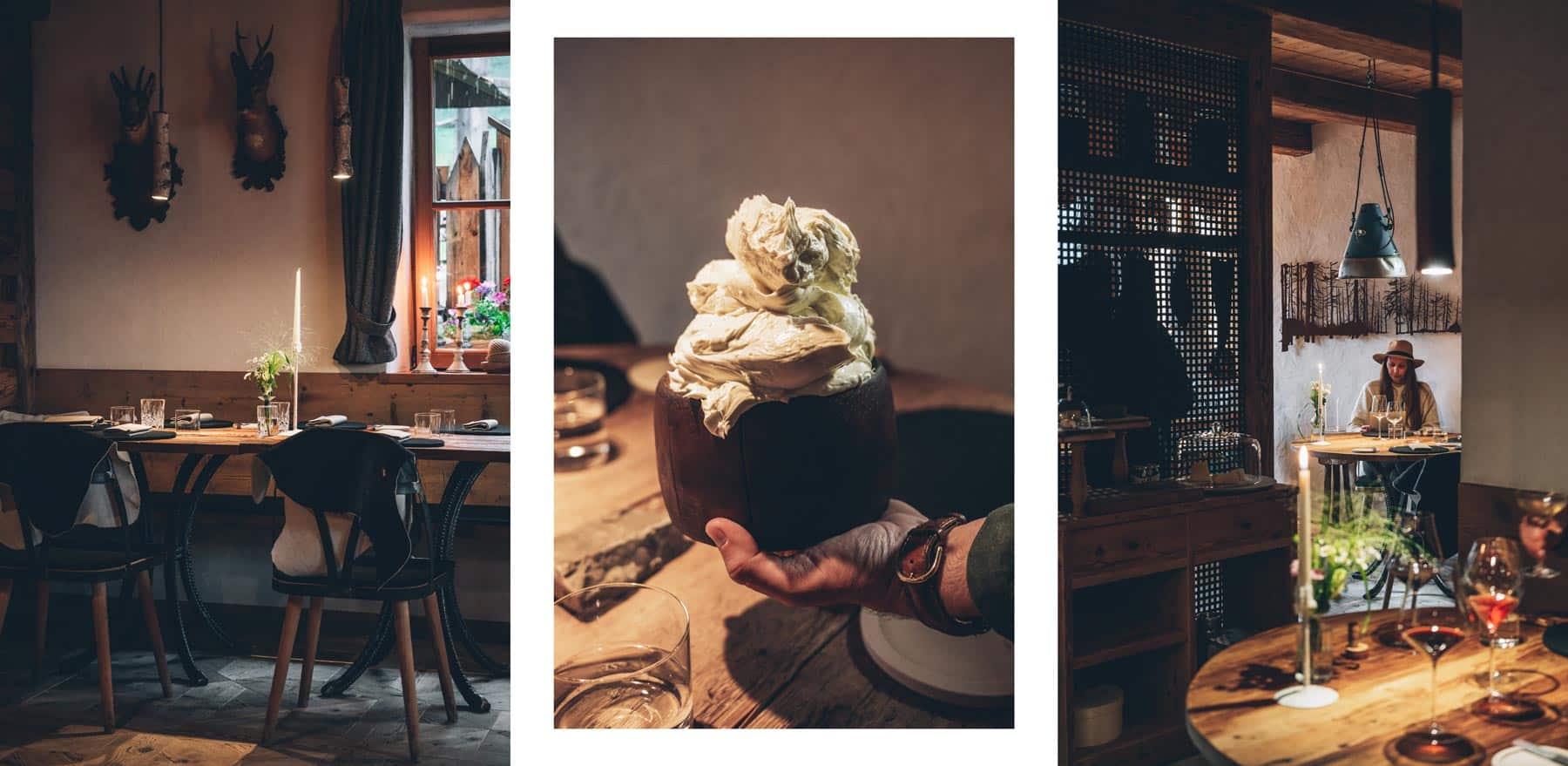 Restaurant Gastronomique Cortina, Dolomites