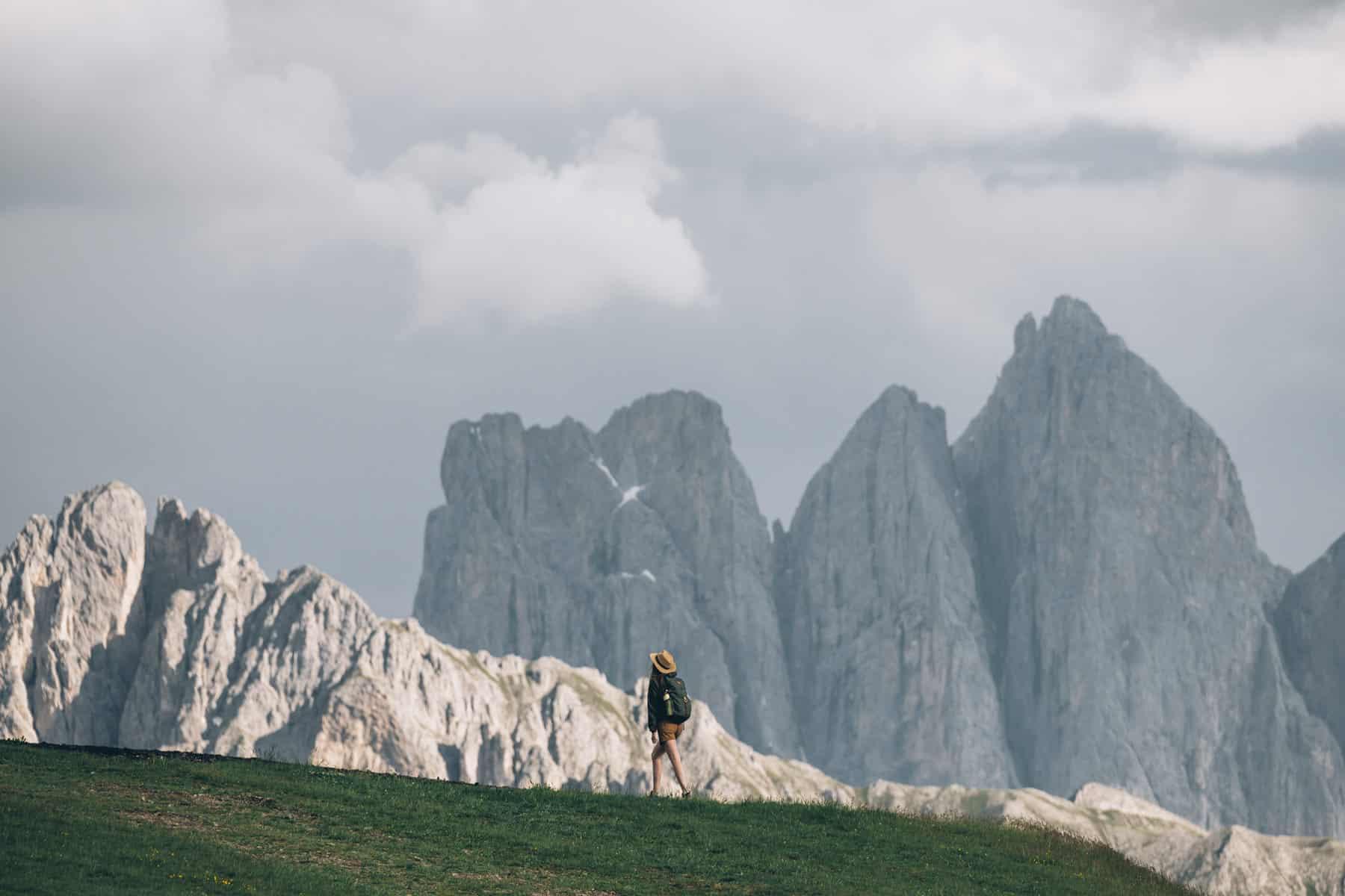 Vue sur les Dolomites depuis Plose
