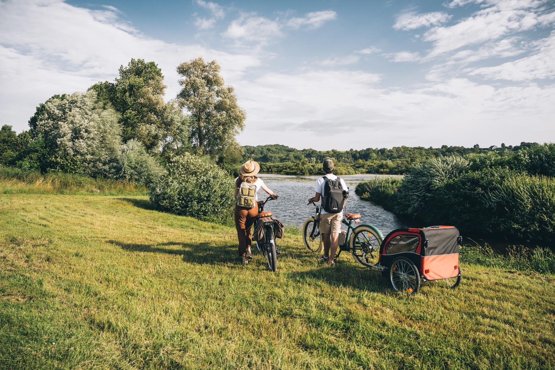 Location vélo retro electrique, Baie de Somme