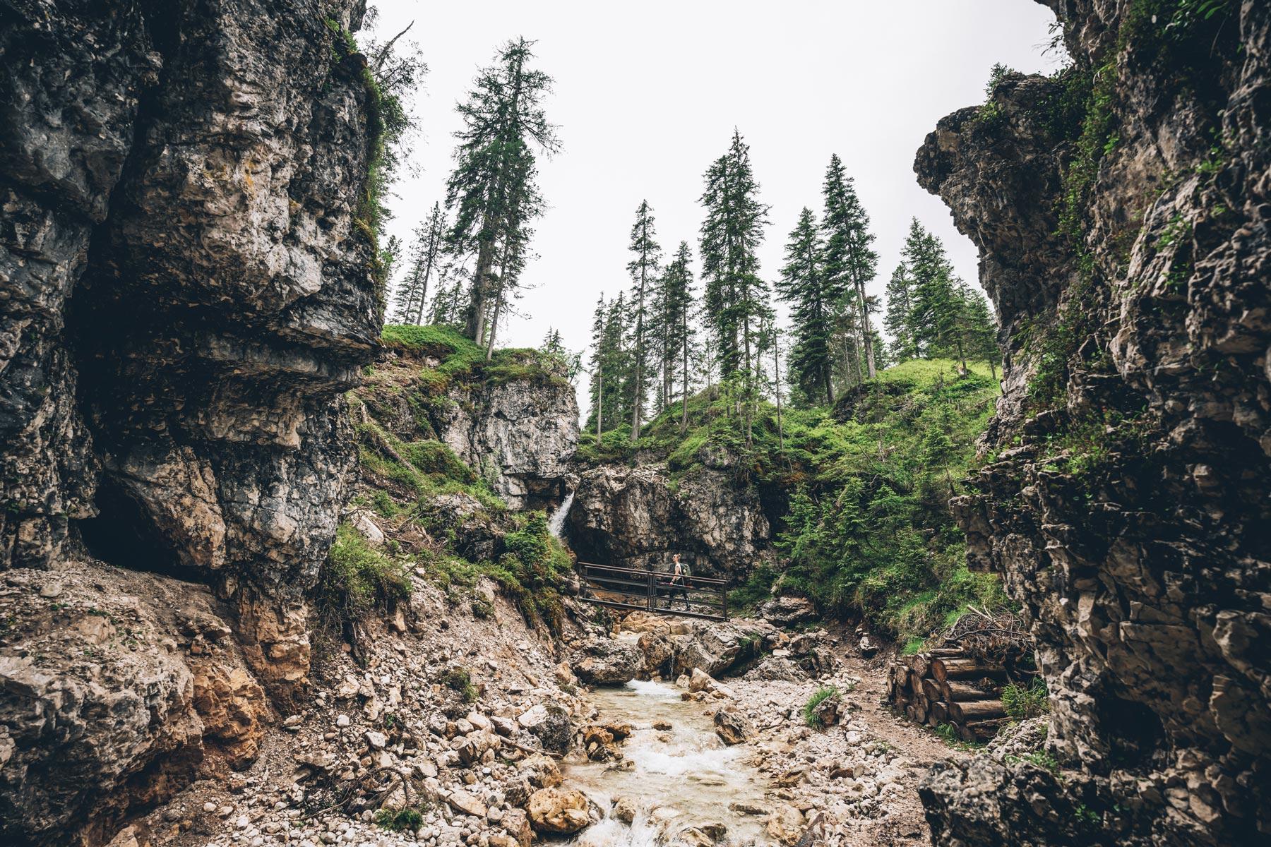 Gores de Federa, Cortina
