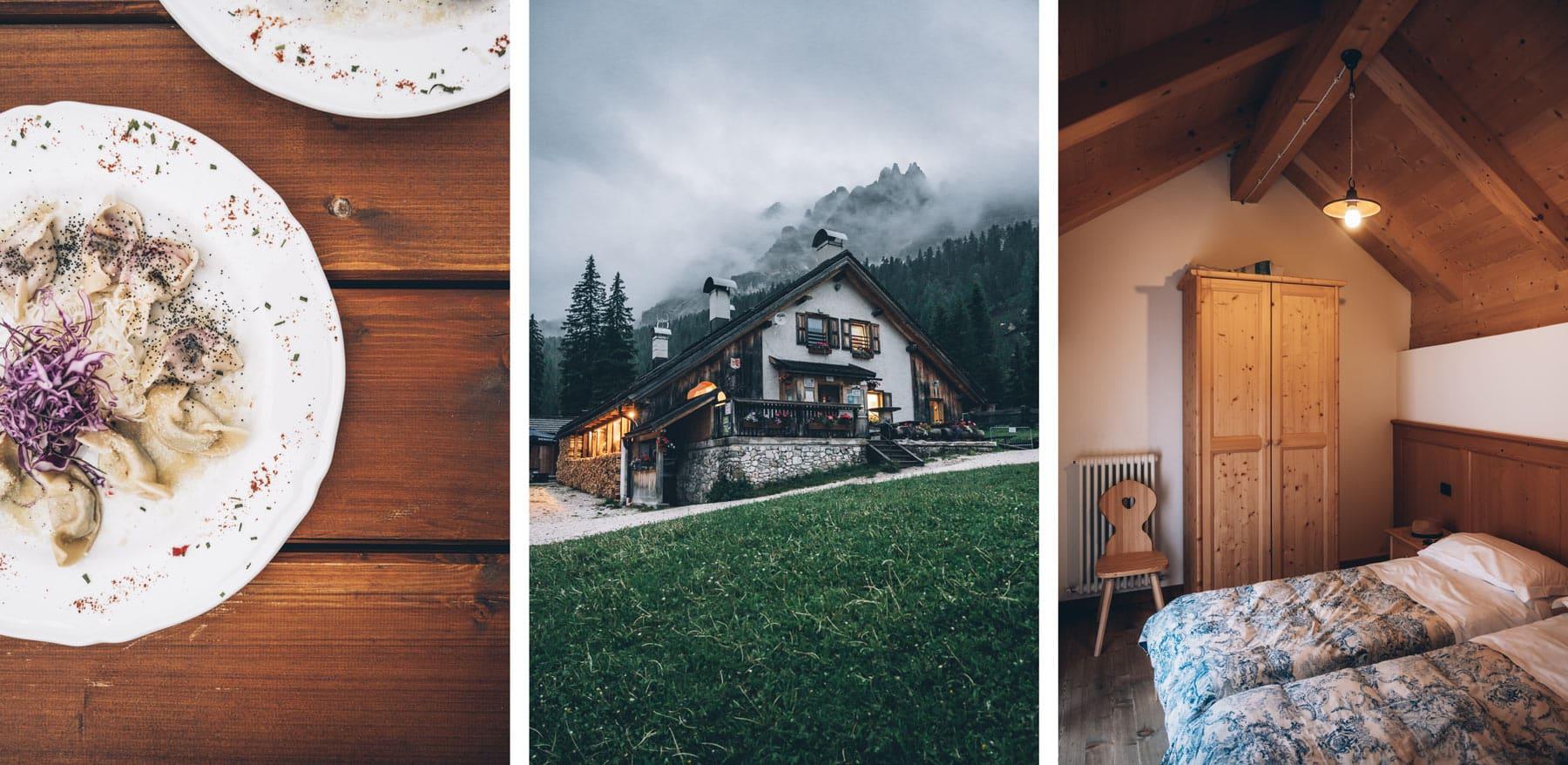 Malga Federa, Cortina