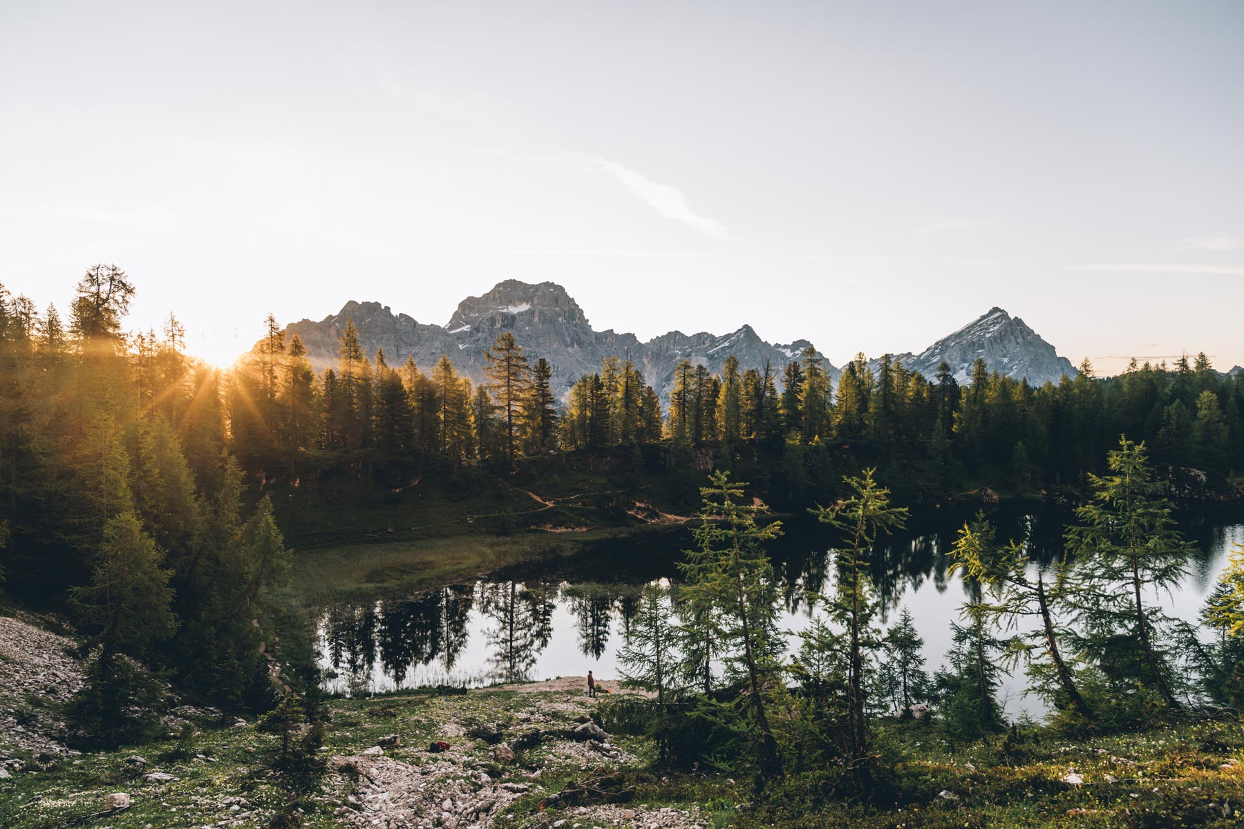 Lago Federa, Cortina