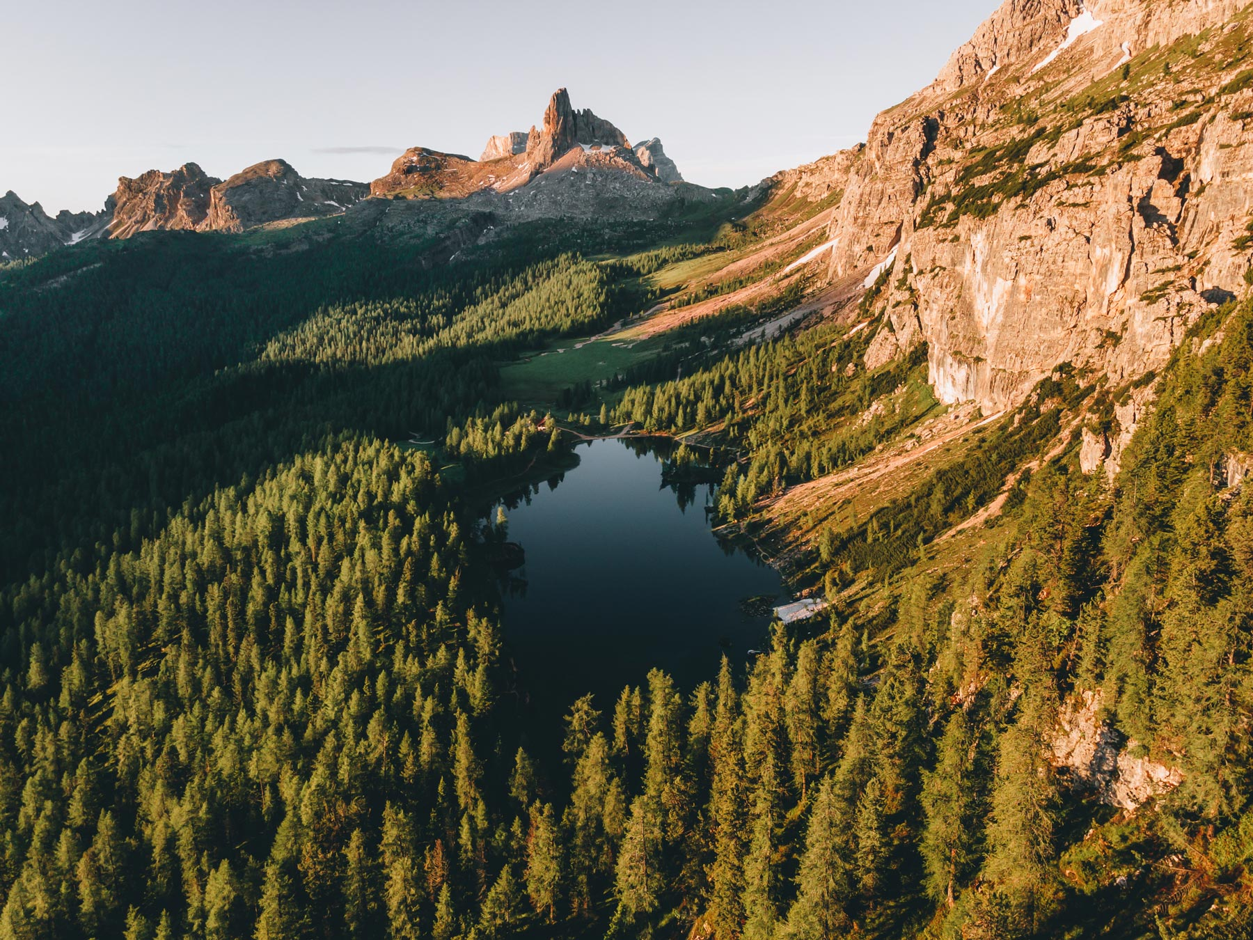 Lago Federa Dolomites