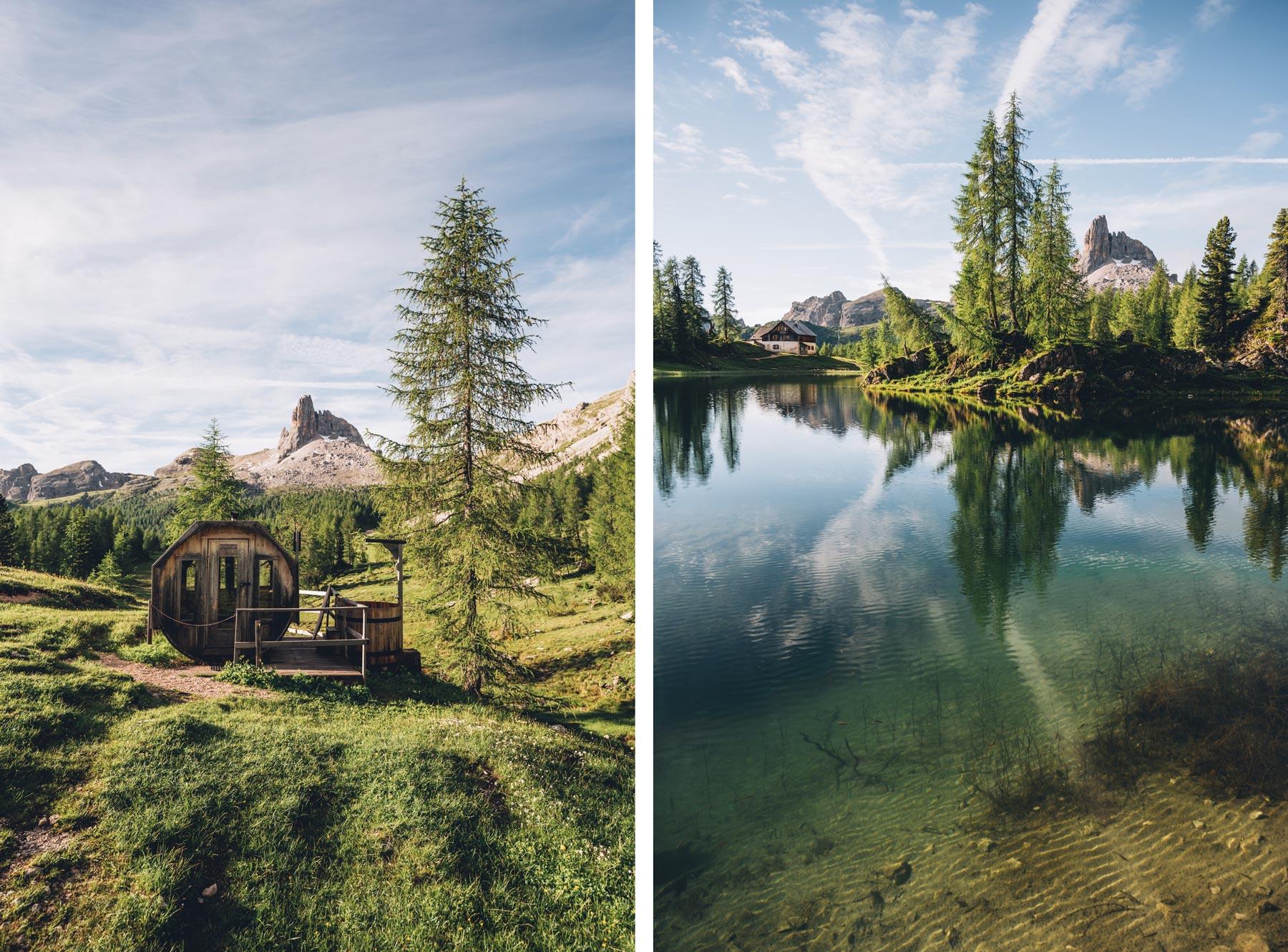 Croda da Lago, Lago Federa, Dolomites, Cortina