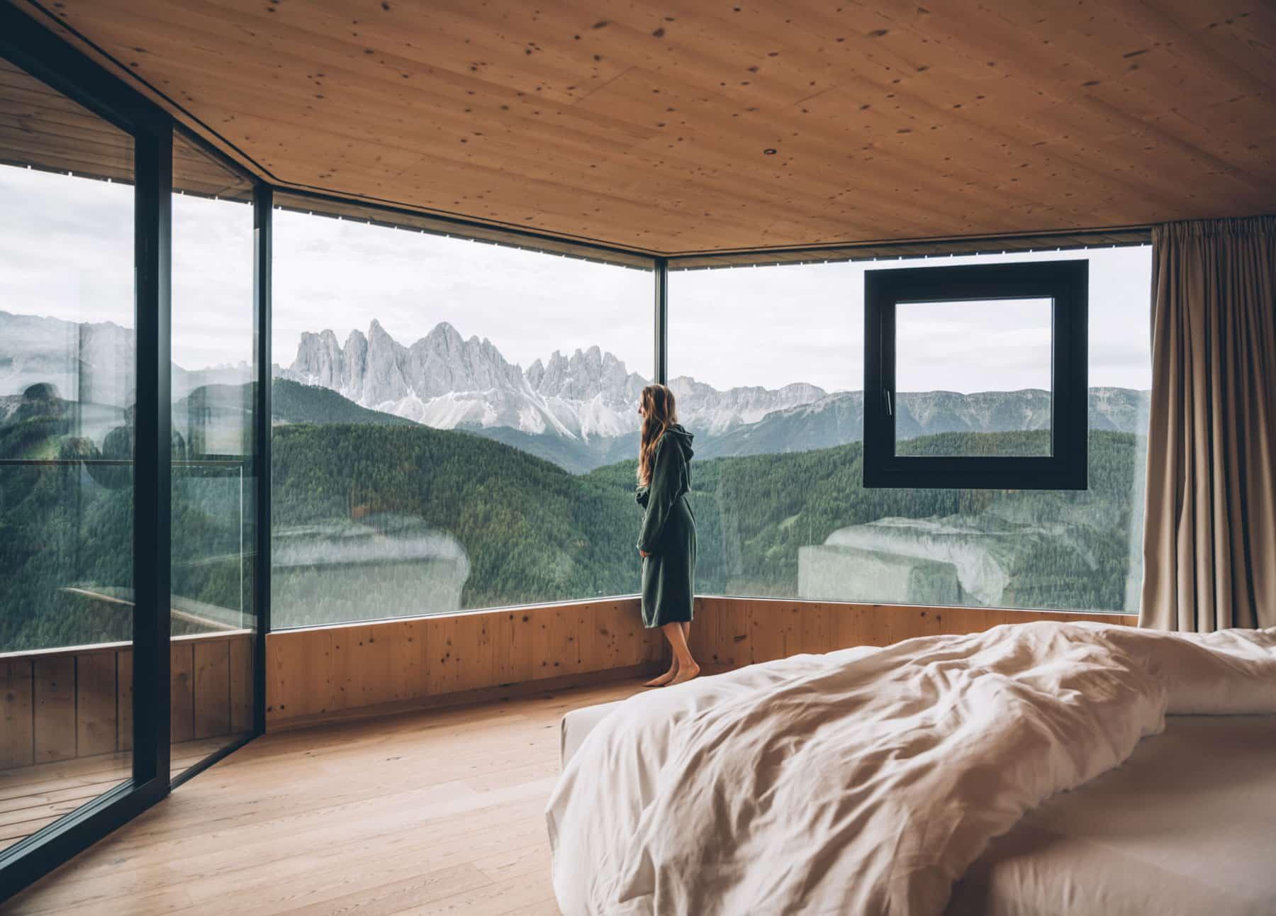 Chambre avec vue, Dolomites, Forestis