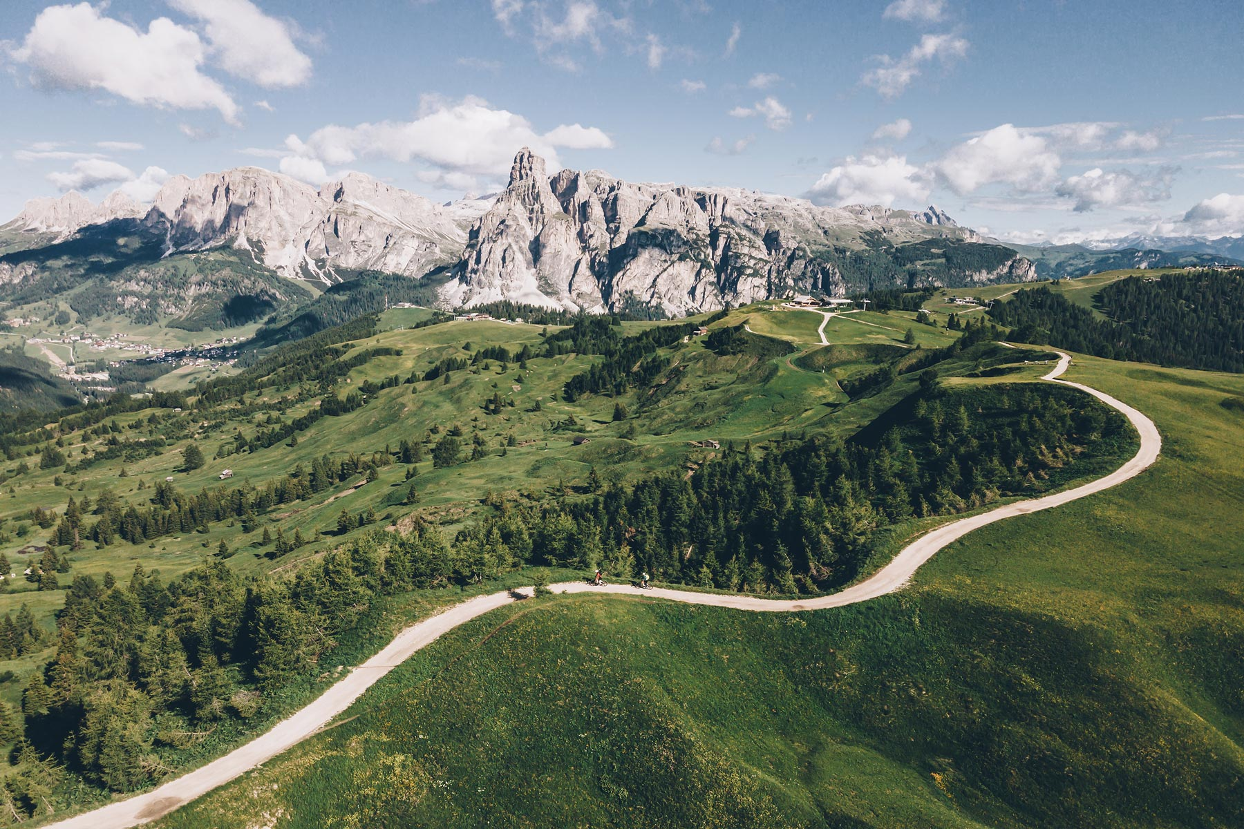 Plateau de Pralongia, Dolomites