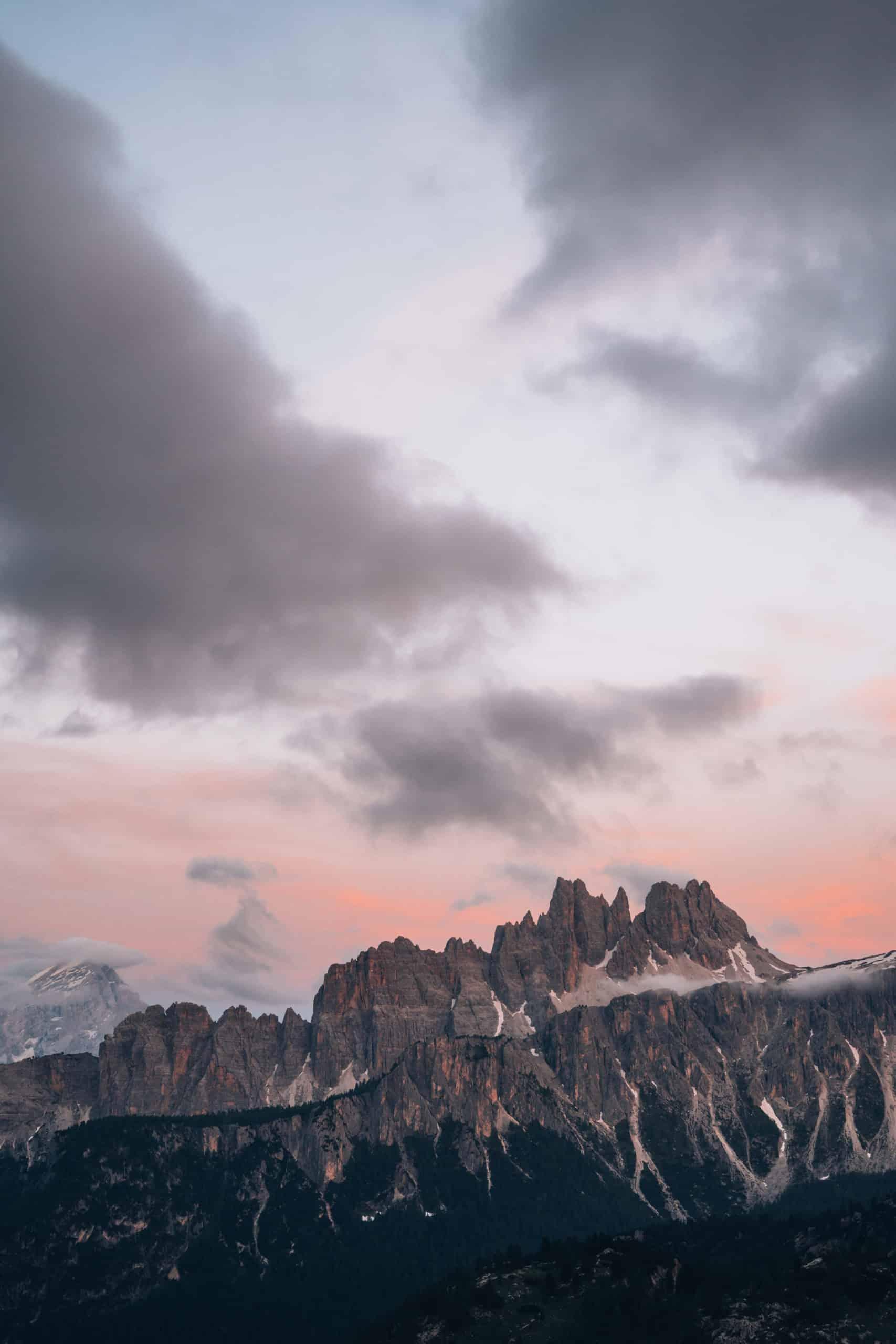 Coucher de Soleil Dolomites