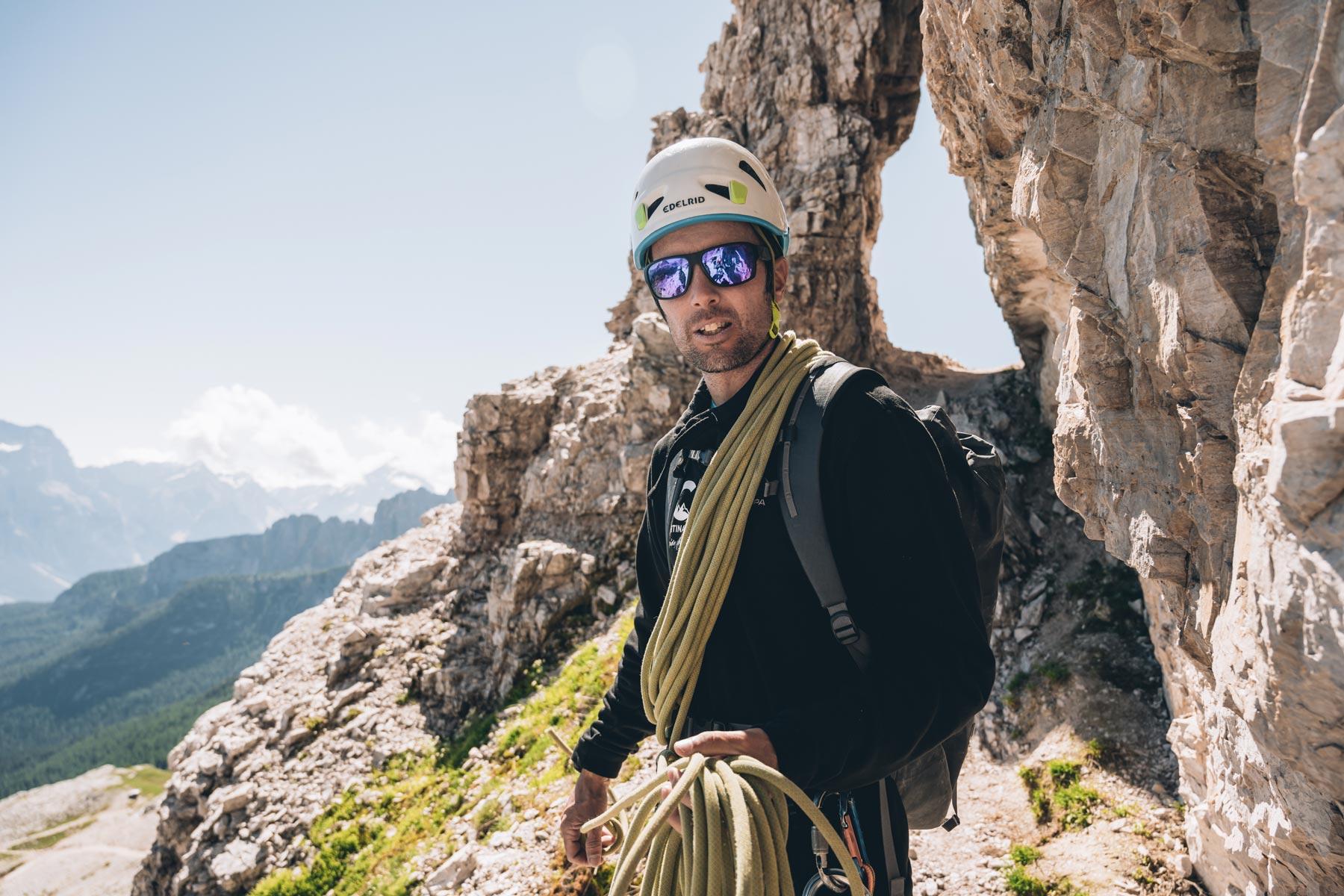 Alberto, Guide Via ferrata Averau