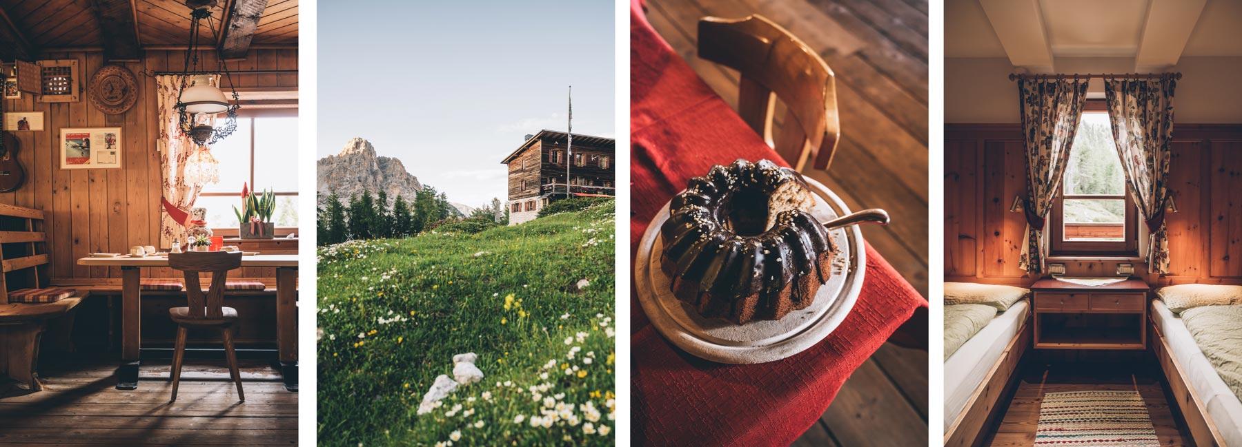 Refuge de Fanes, Dolomites