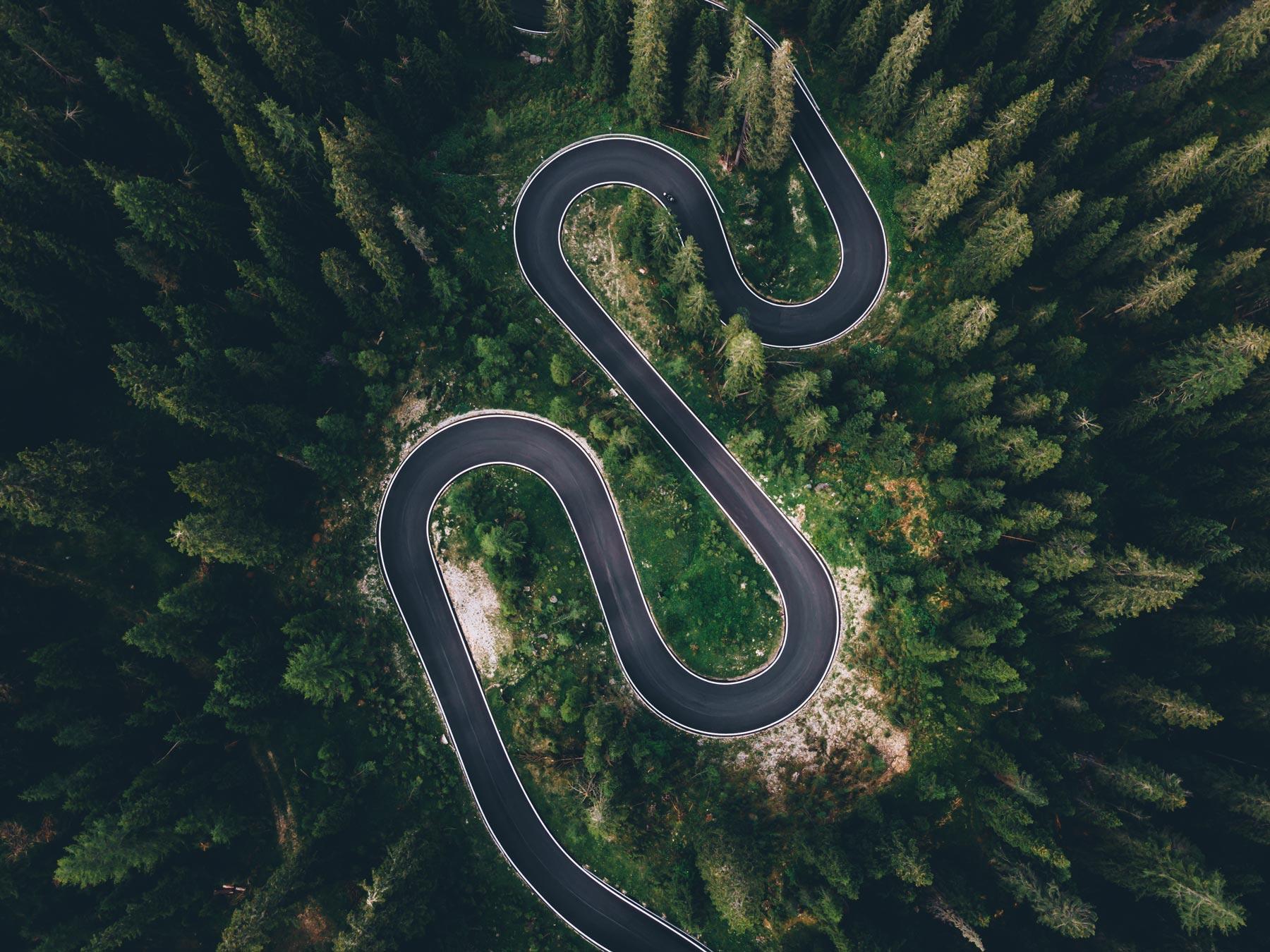 Snake Road Dolomites