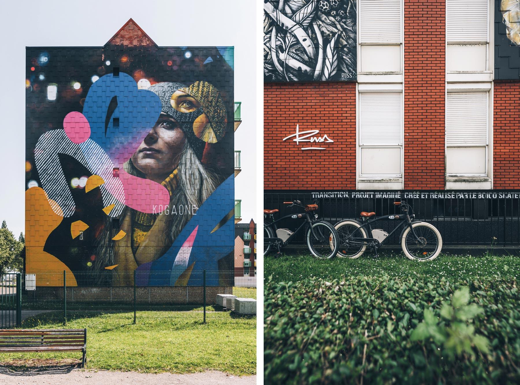 Street Art Abbeville, Baie de Somme