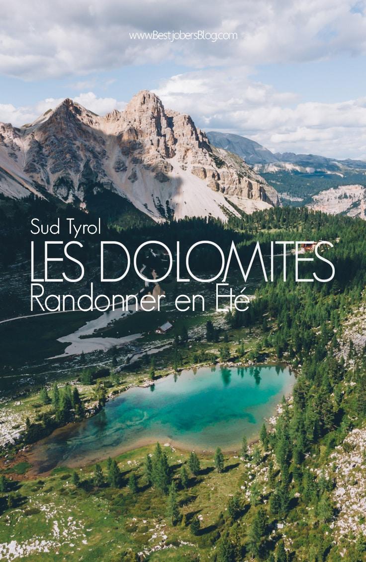 Dolomites en été