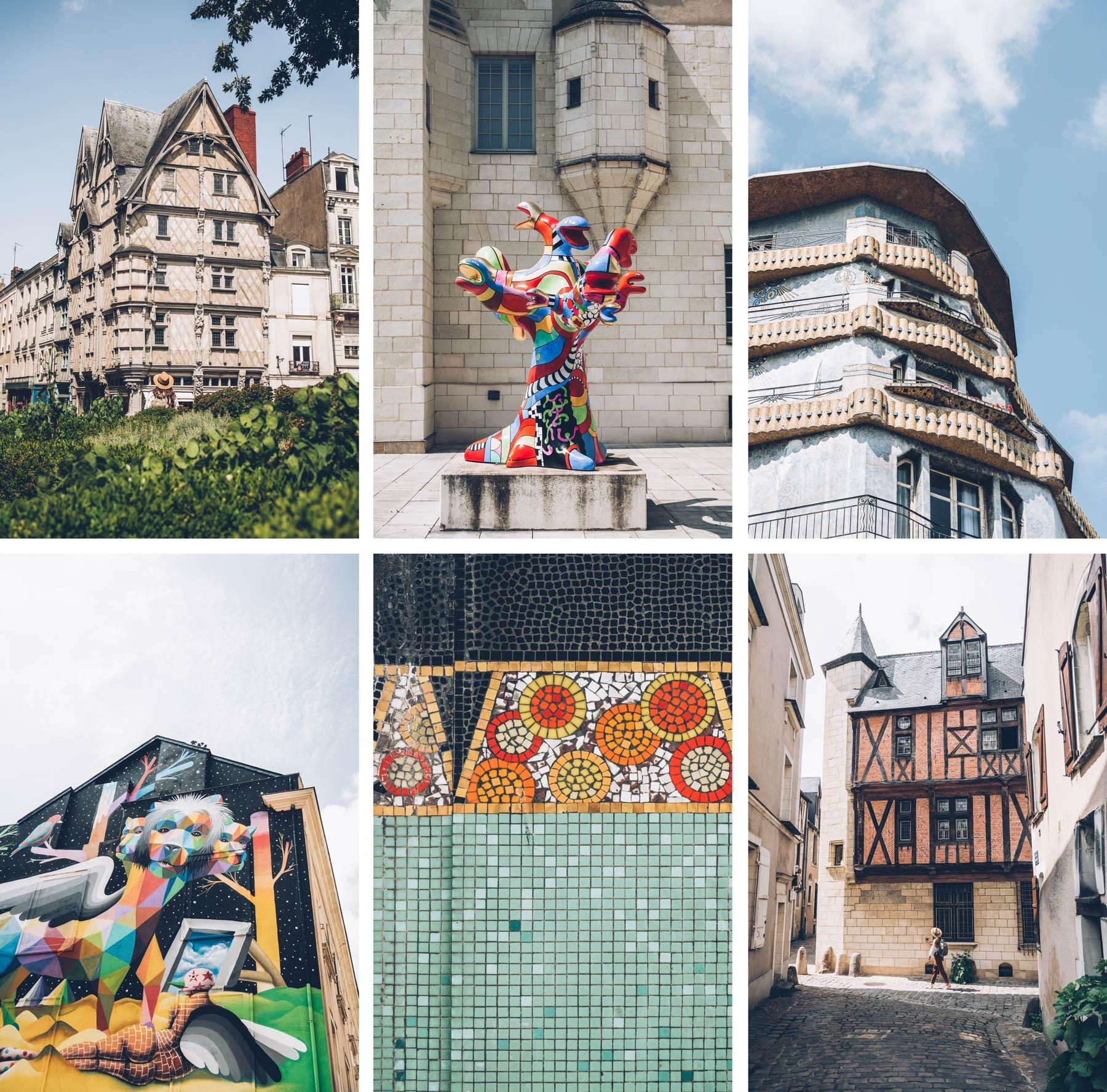 Angers, Street Art et Art Déco