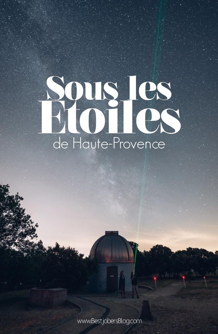Observer les étoiles en Provence, Bestjobers