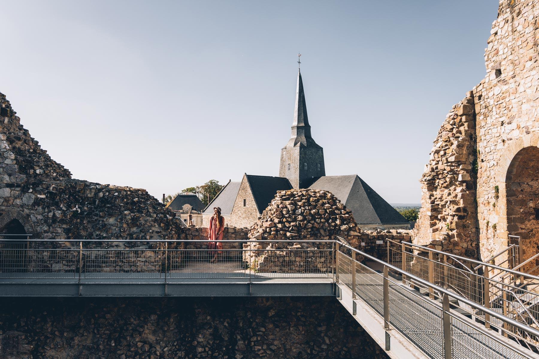 Château Sainte Suzanne, Mayenne