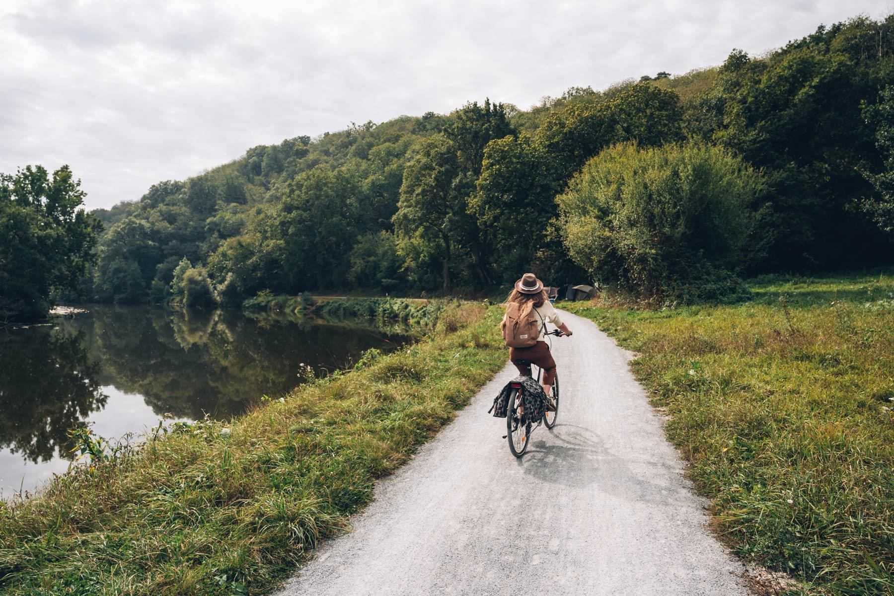 la Vélofrancette en Mayenne