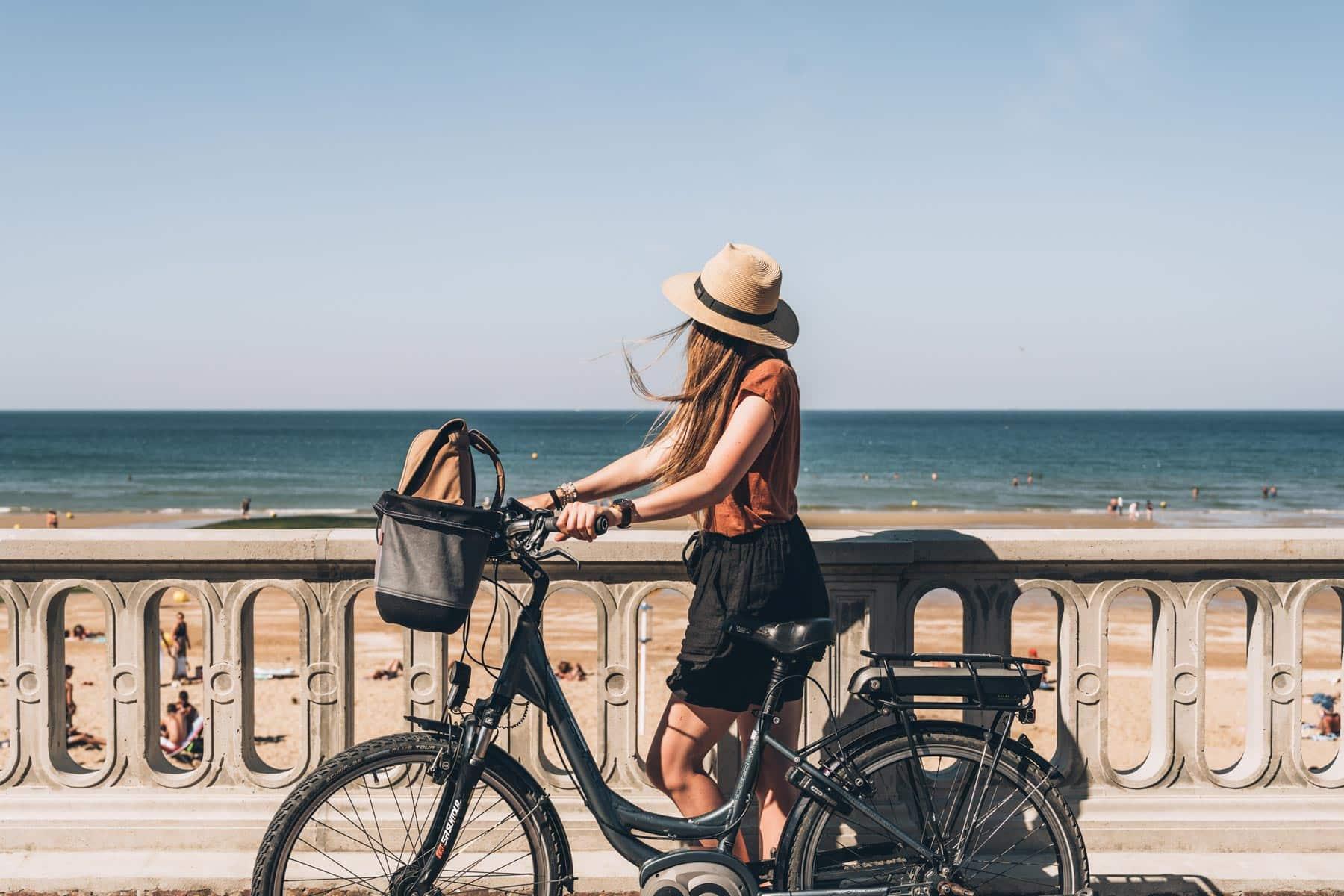 Balade guidée en vélo de Cabourg