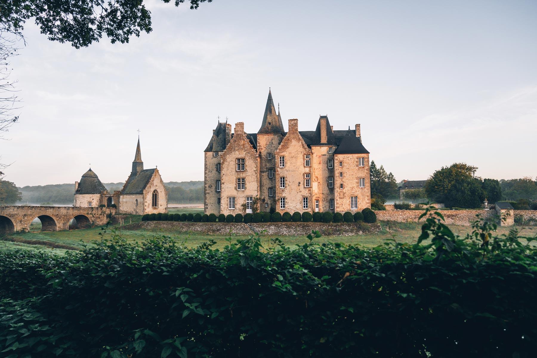 château de Bourgon, Mayenne