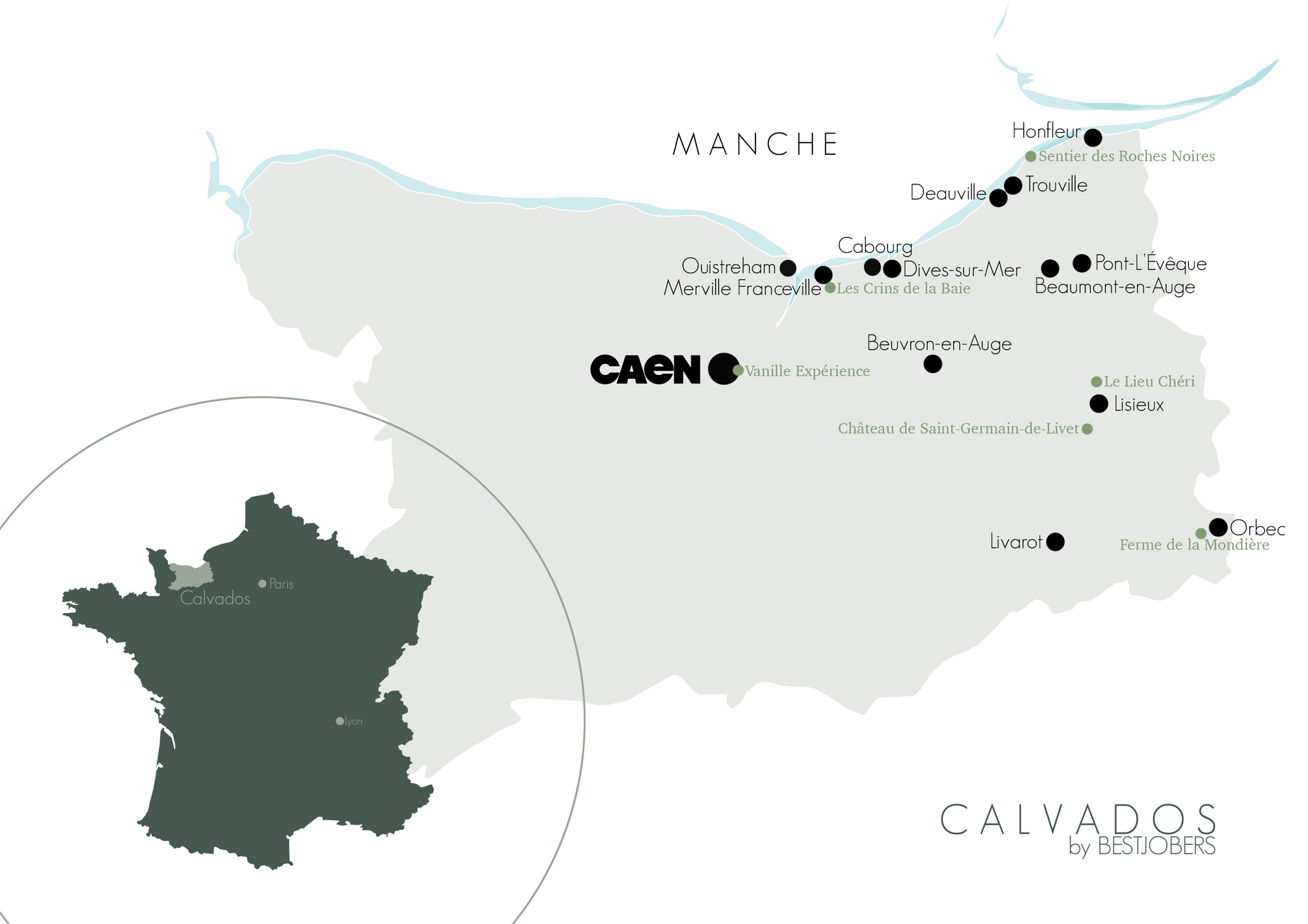 Carte Calvados Bestjobers Blog