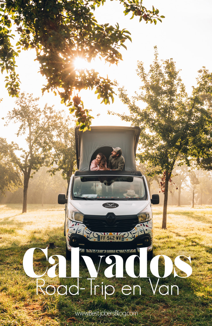 Road trip Calvados Normandie, Bestjobers