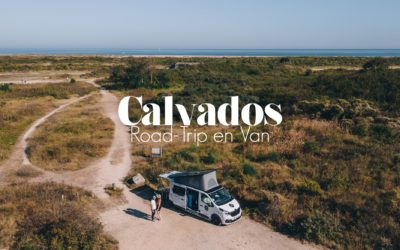 NORMANDIE   ROAD-TRIP EN VAN AMENAGÉ DANS LE CALVADOS